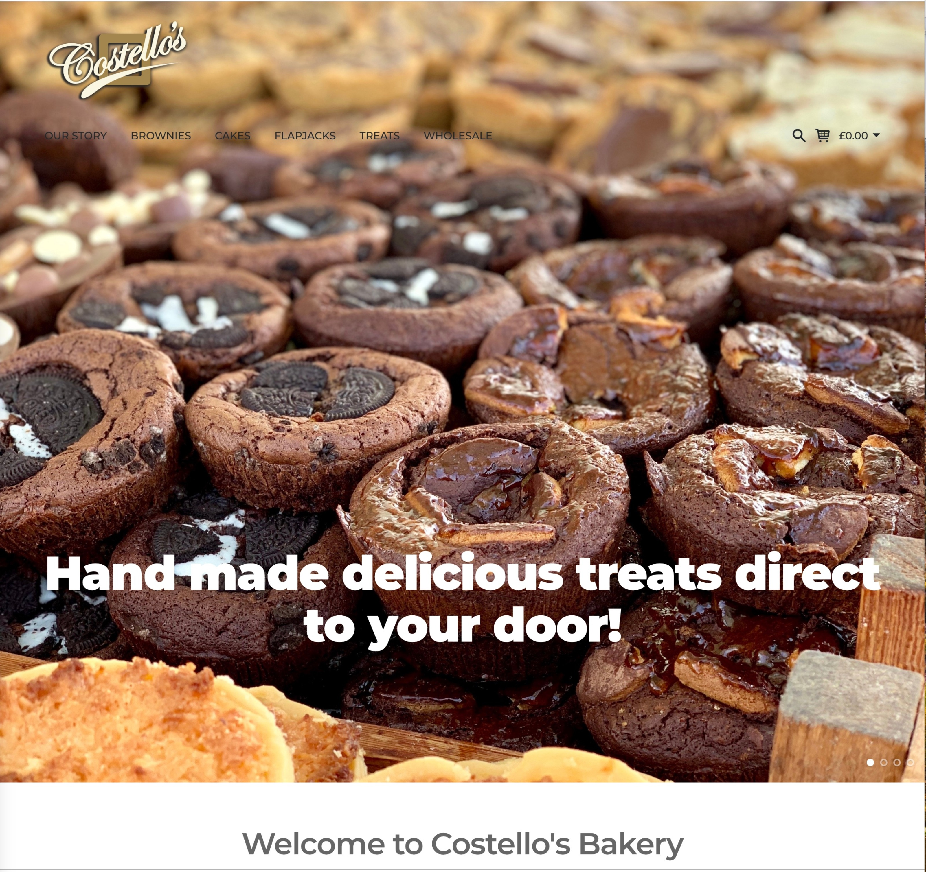 Costello's online store is GO!