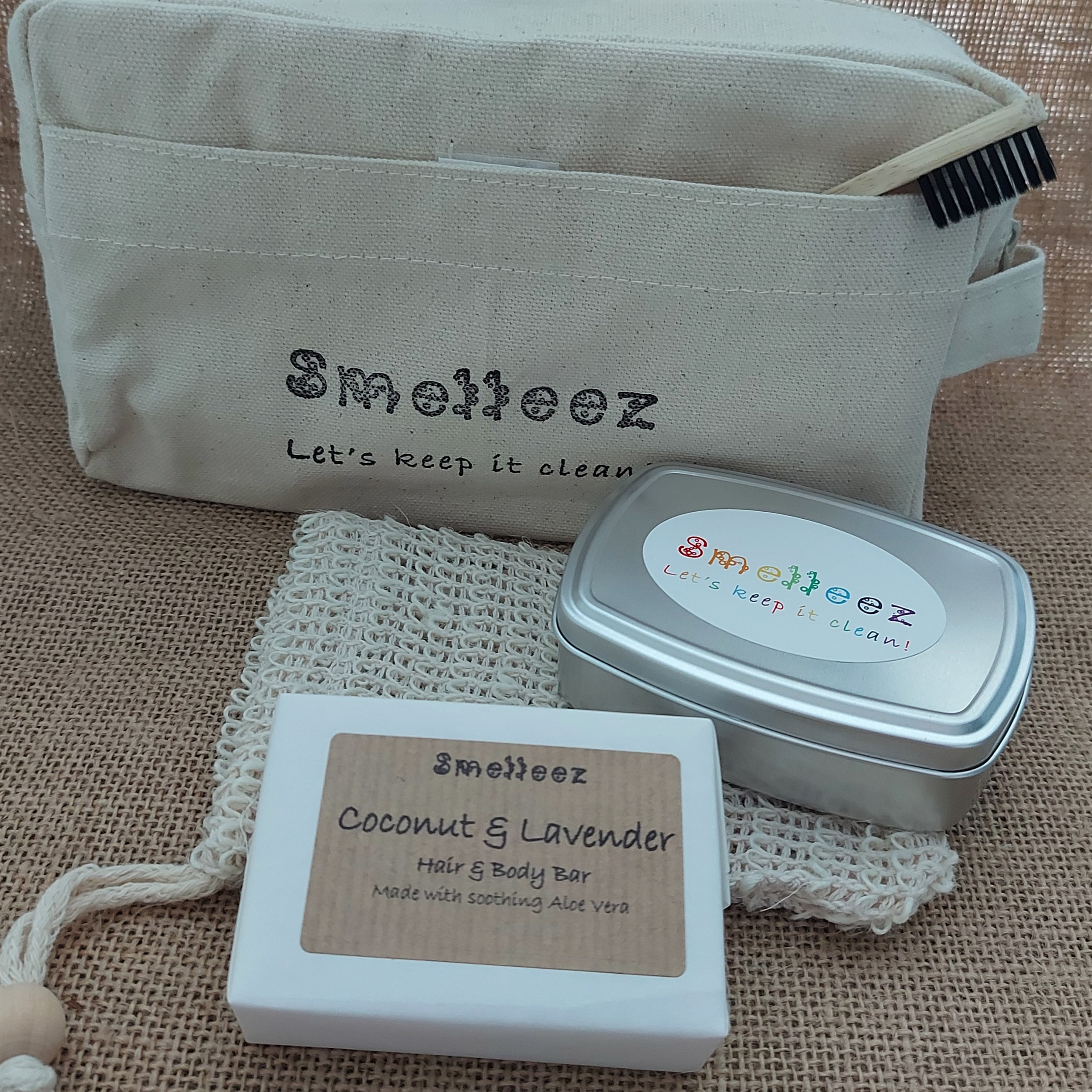 Less Waste Toiletry Bag