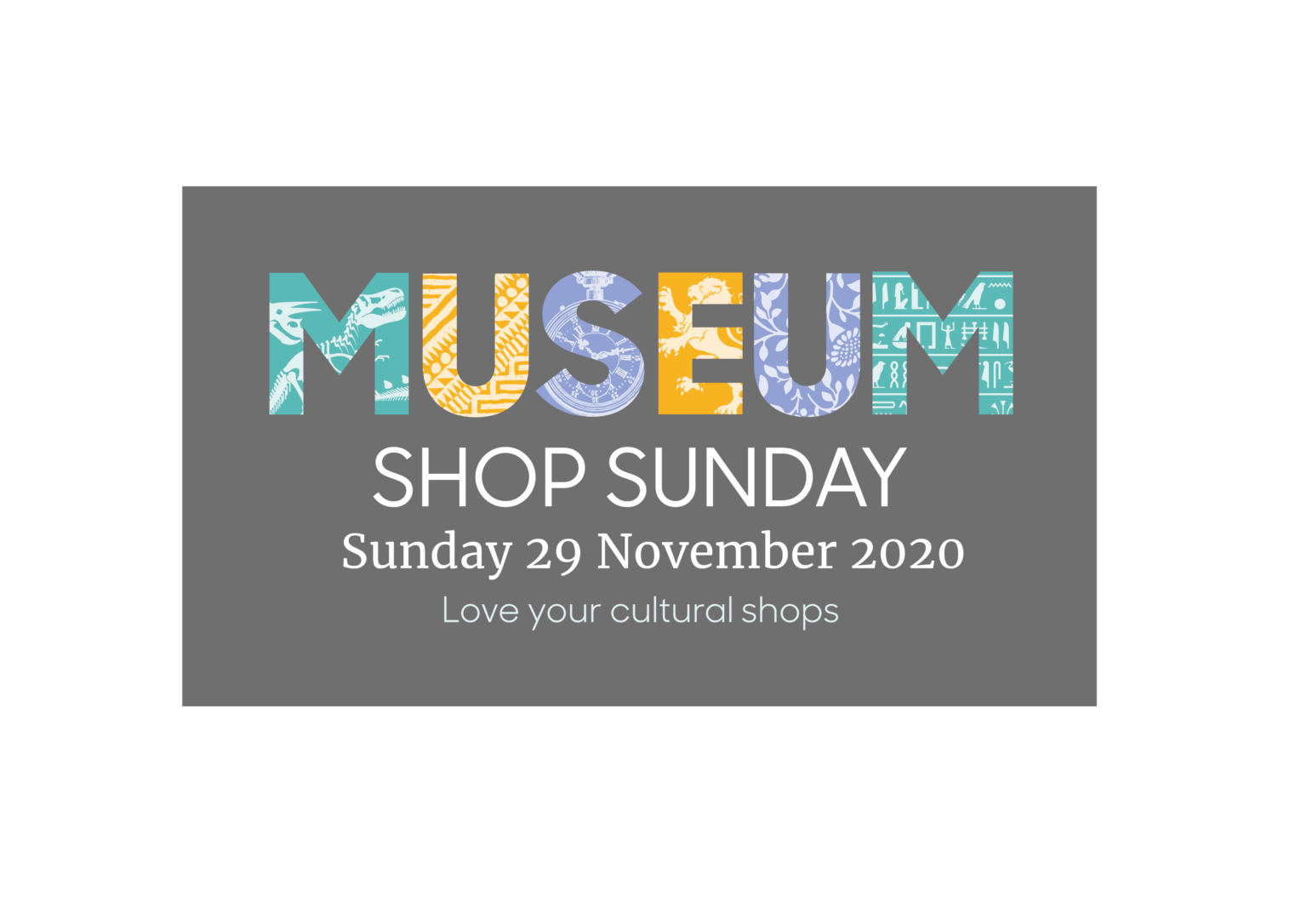 Museum Shop Sunday Coming Soon
