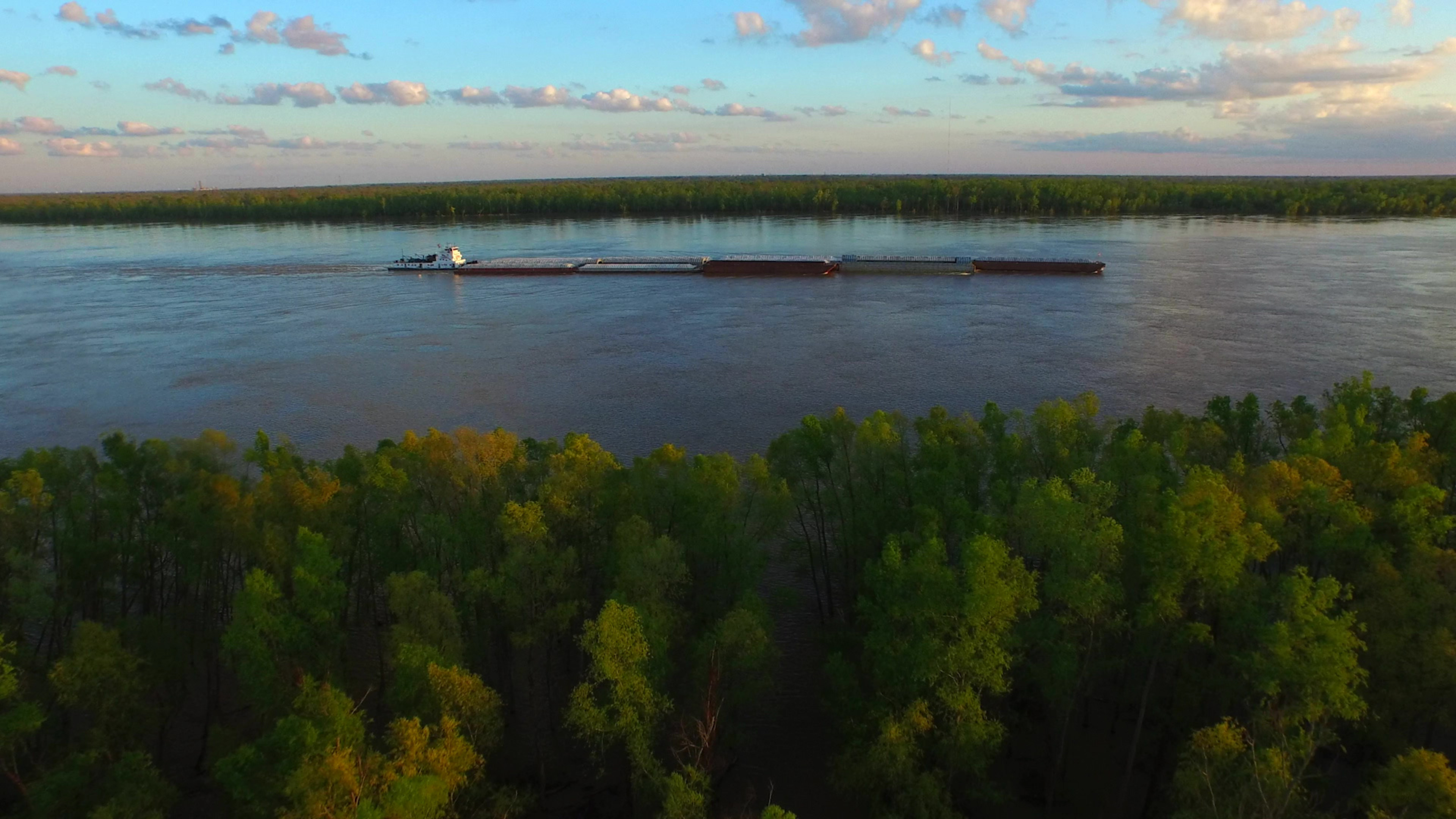 Mississippi River stock footage