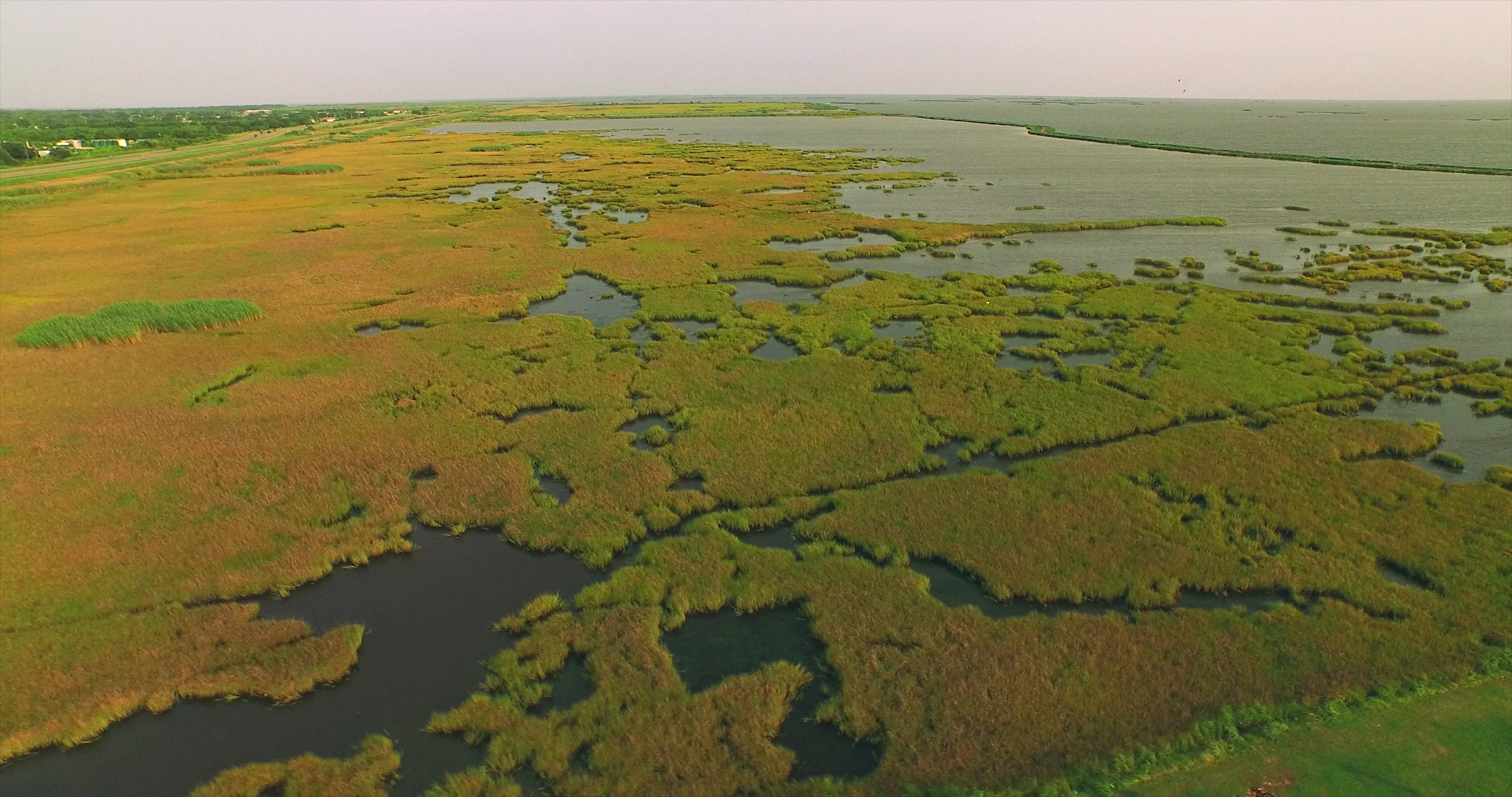Louisiana Gulf Coast aerials