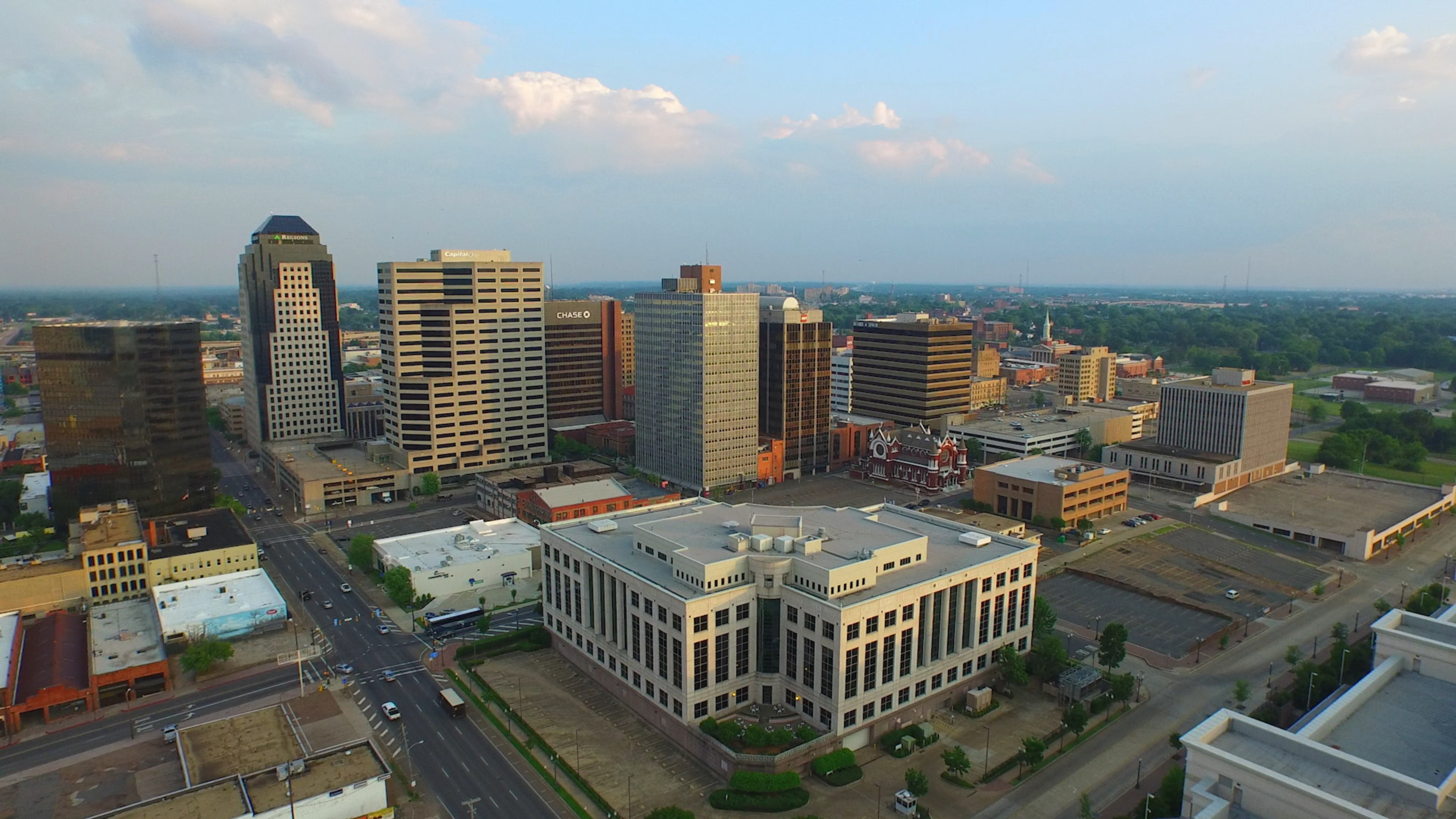 Shreveport Louisiana aerials