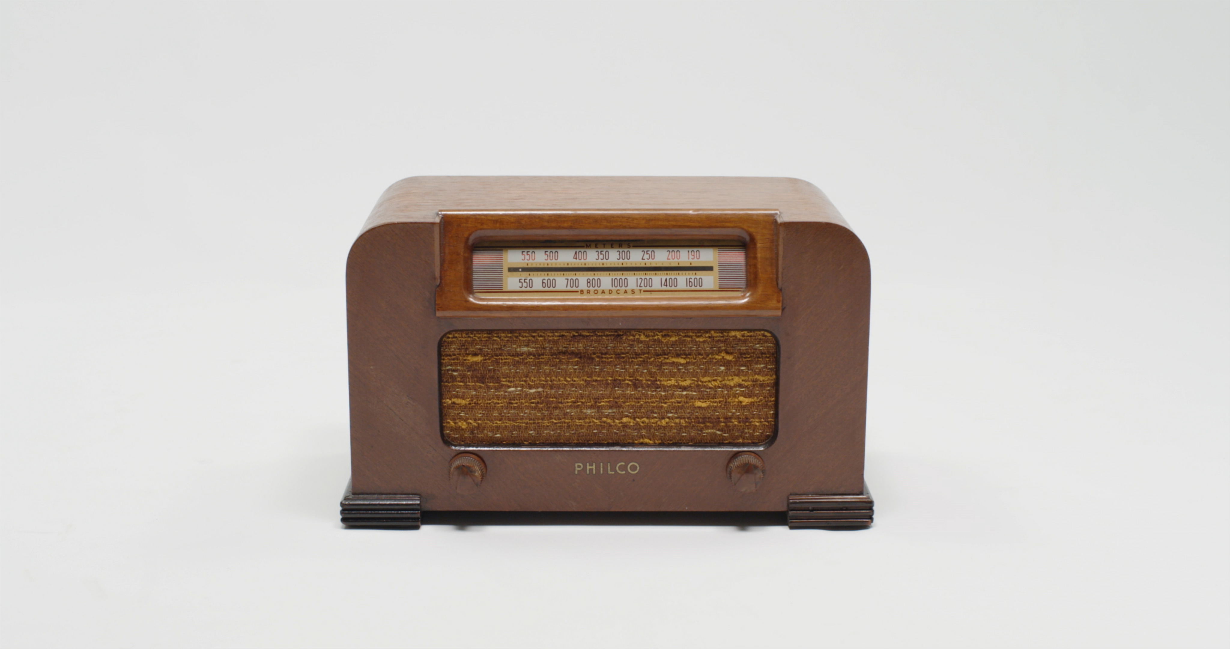 Philco Radio stock footage