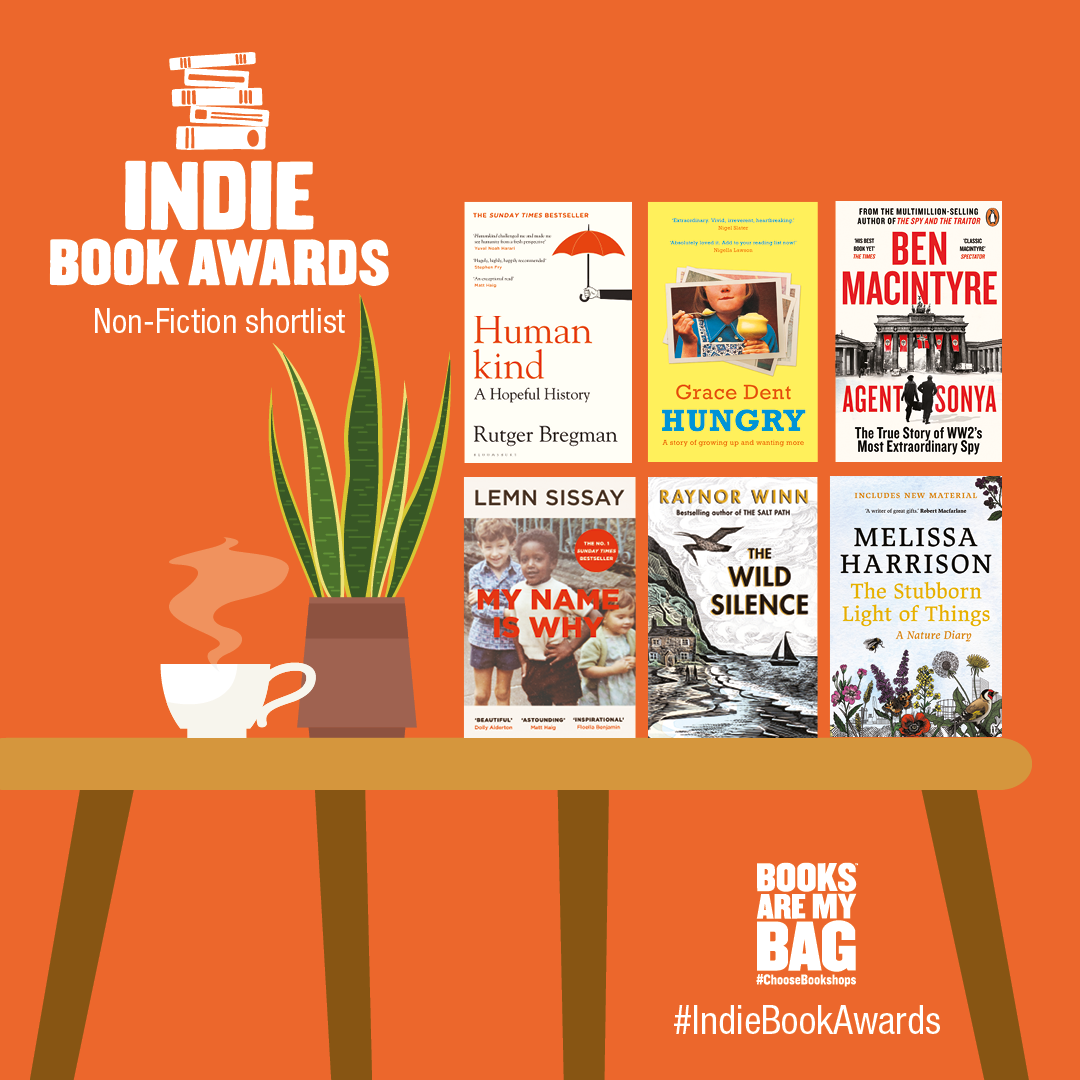 Indie Book Awards 2021 (non-fiction)