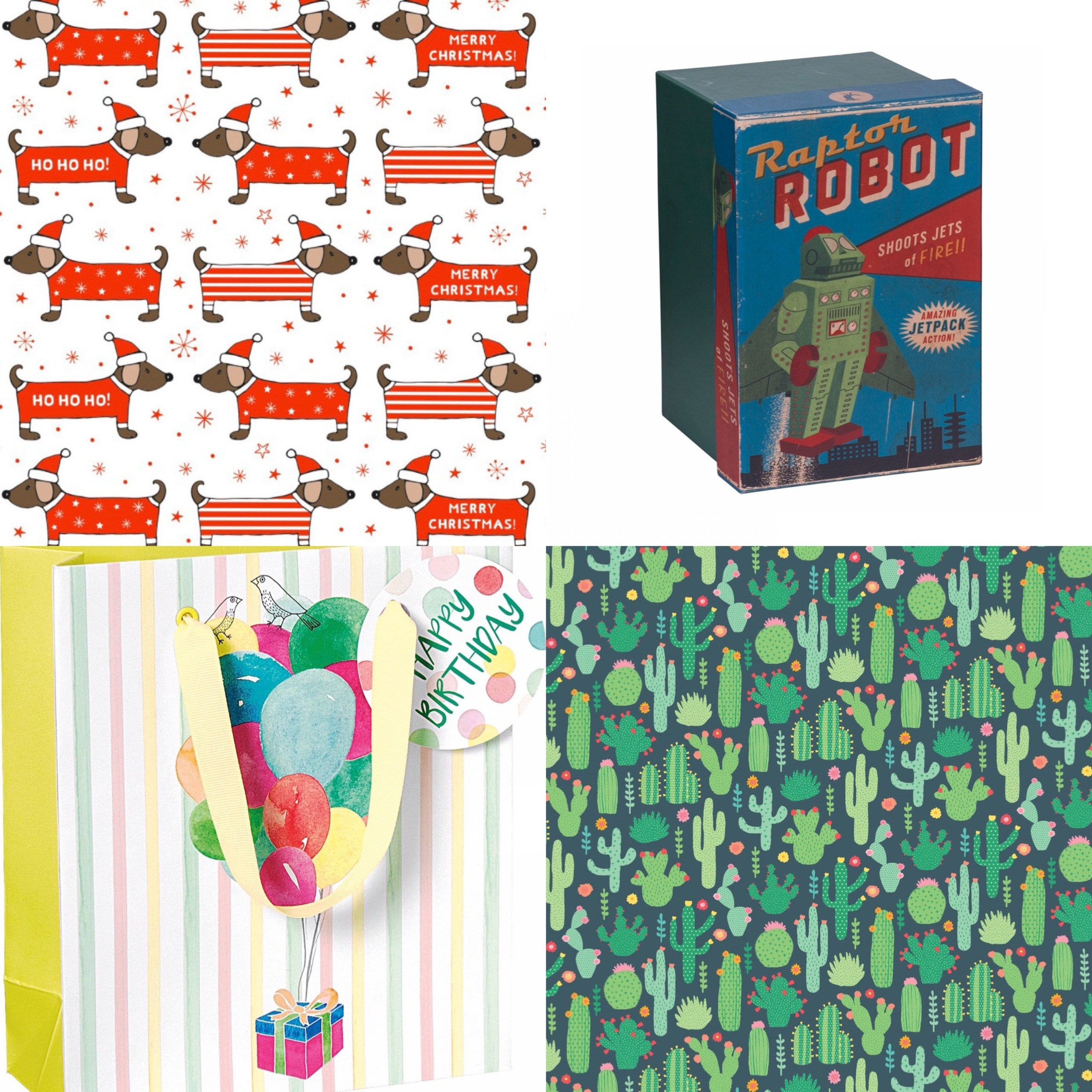 Gift Wrap, Bags & Tag