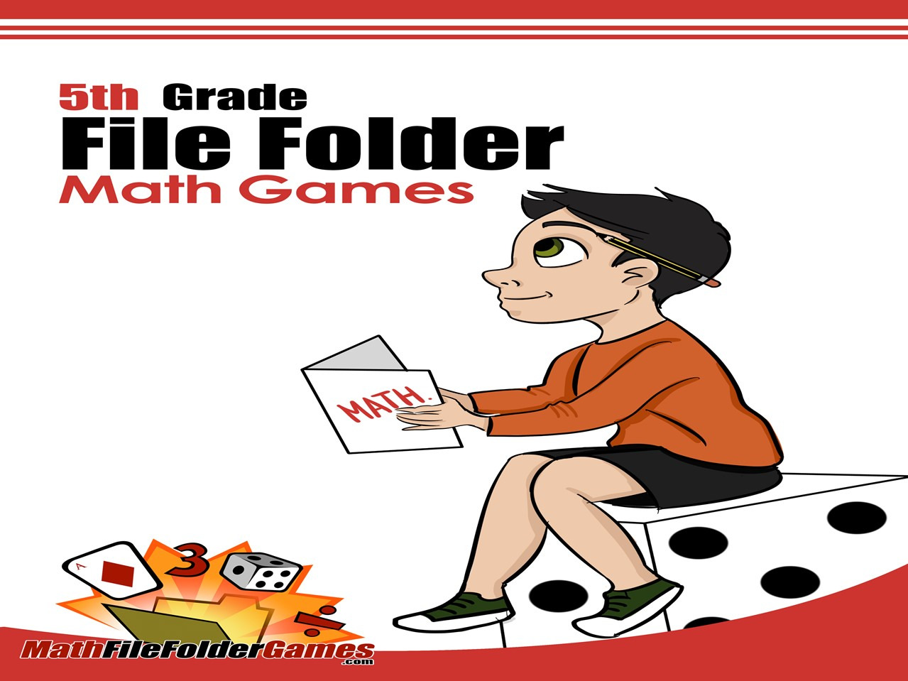 5th Grade File Folder Math Games