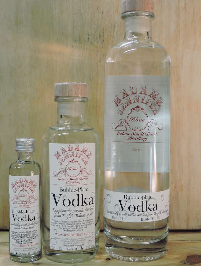 Bubble-Plate Vodka