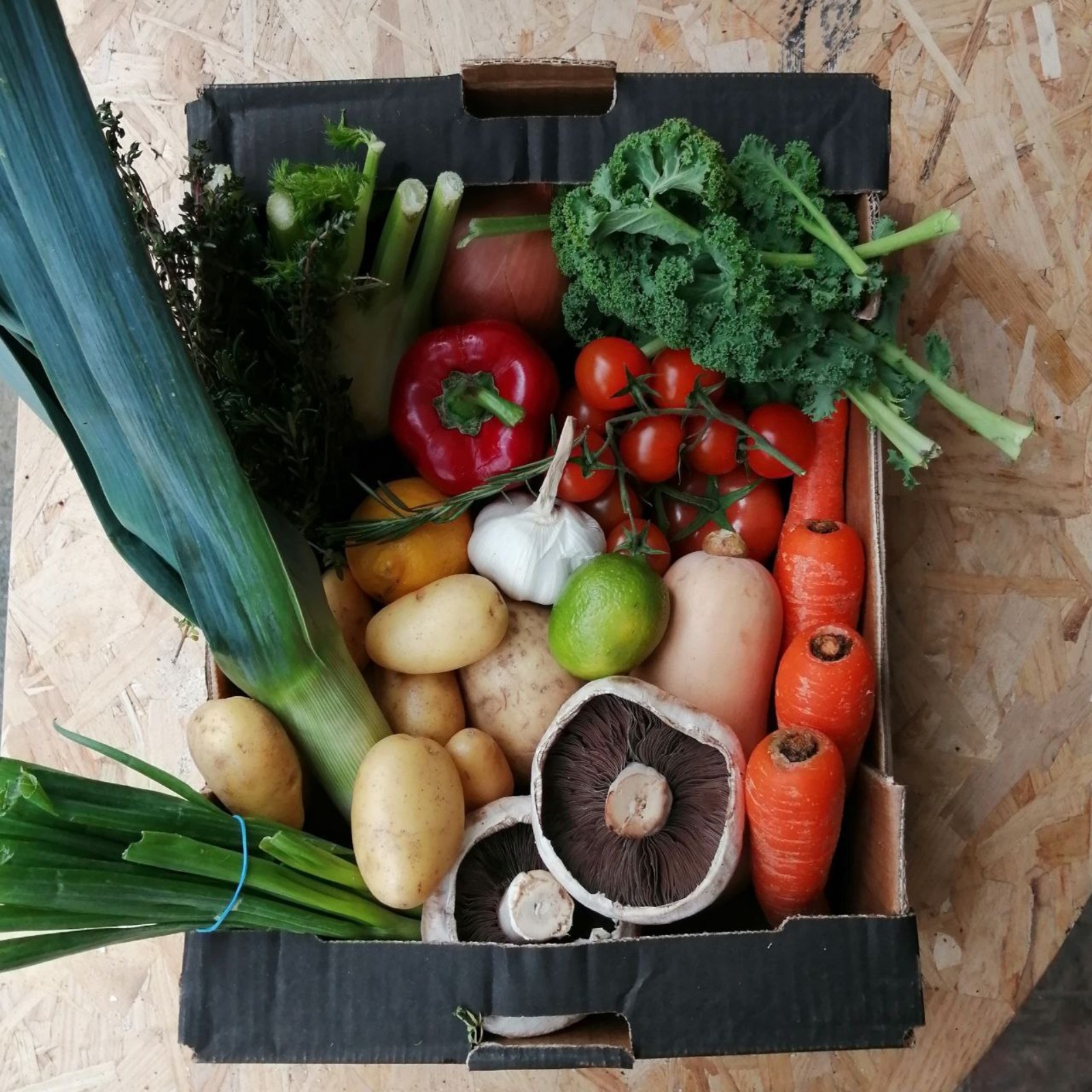 Weekly Veg Boxes (Order anytime collect every Wednesday 12 -6)