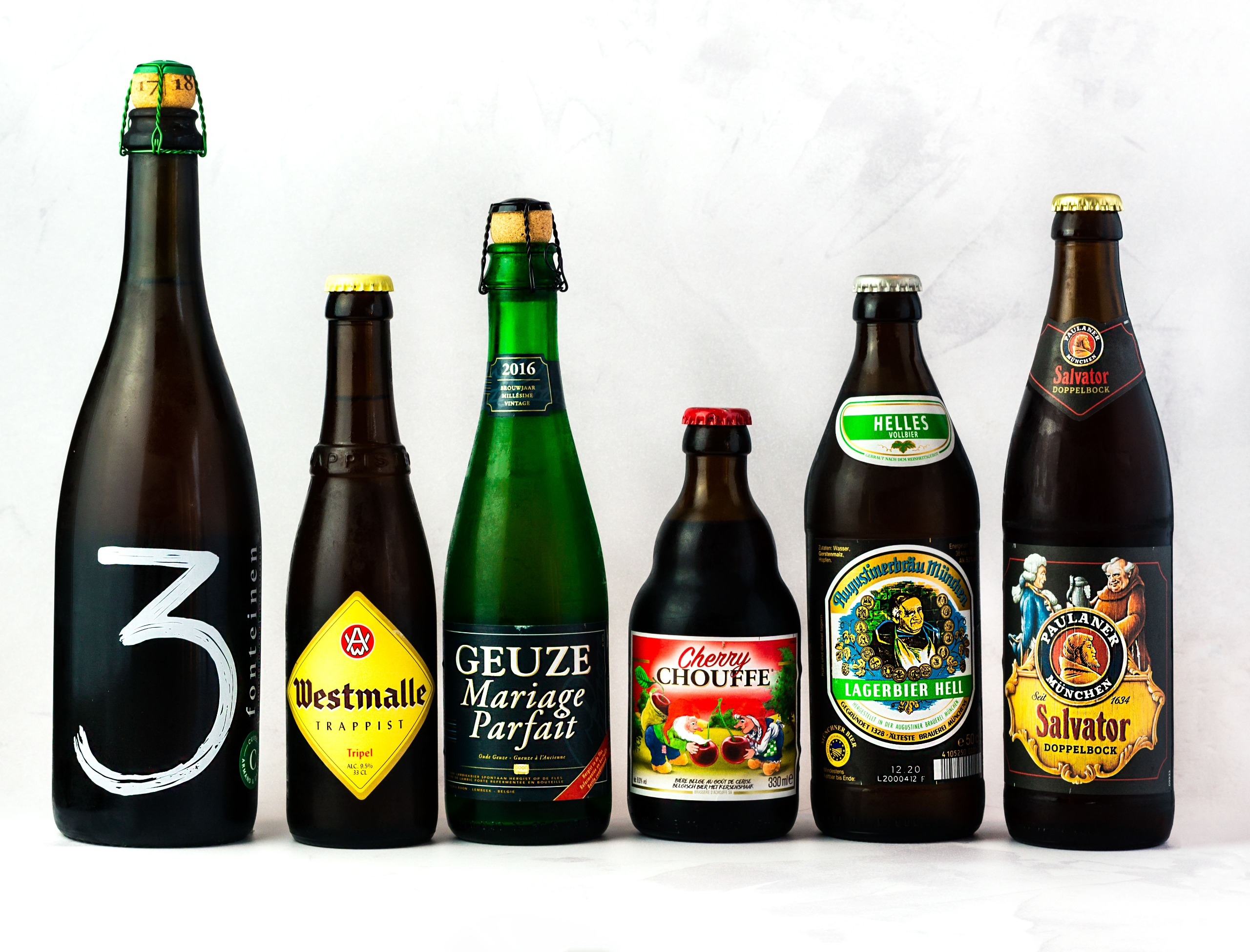 Belgian & World Beers