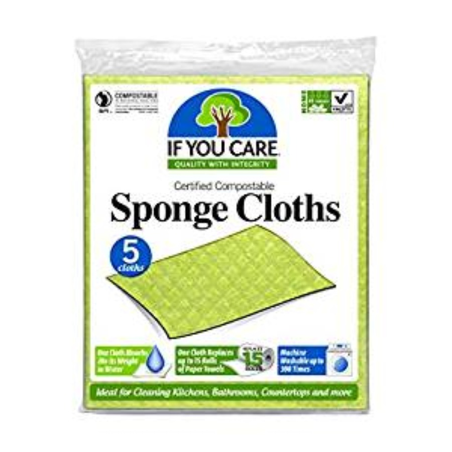 Sponges, brushes and cleaning cloths