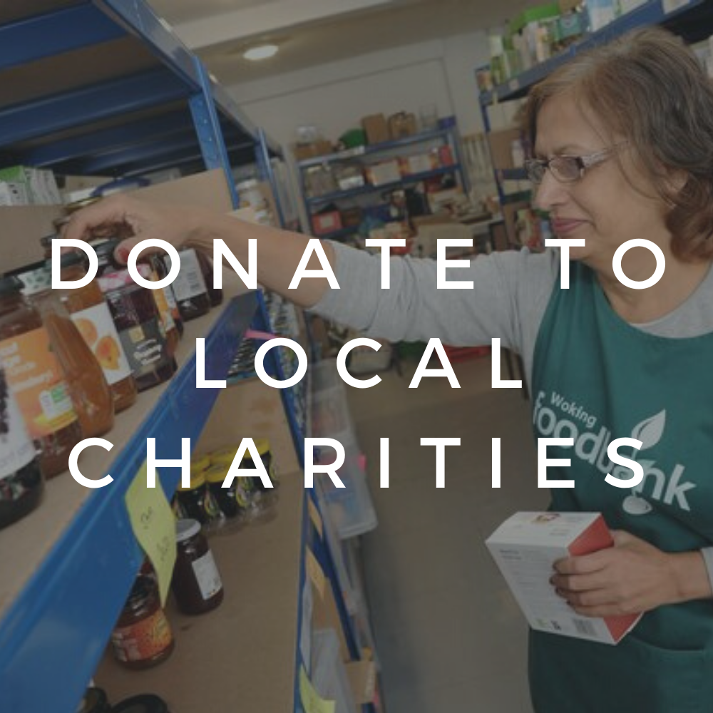 Donate to Local Charities