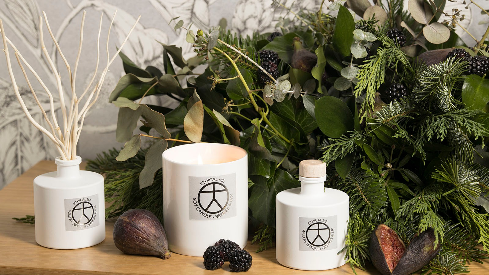Ethical Me - Ceramic Candles & Reed Diffusers