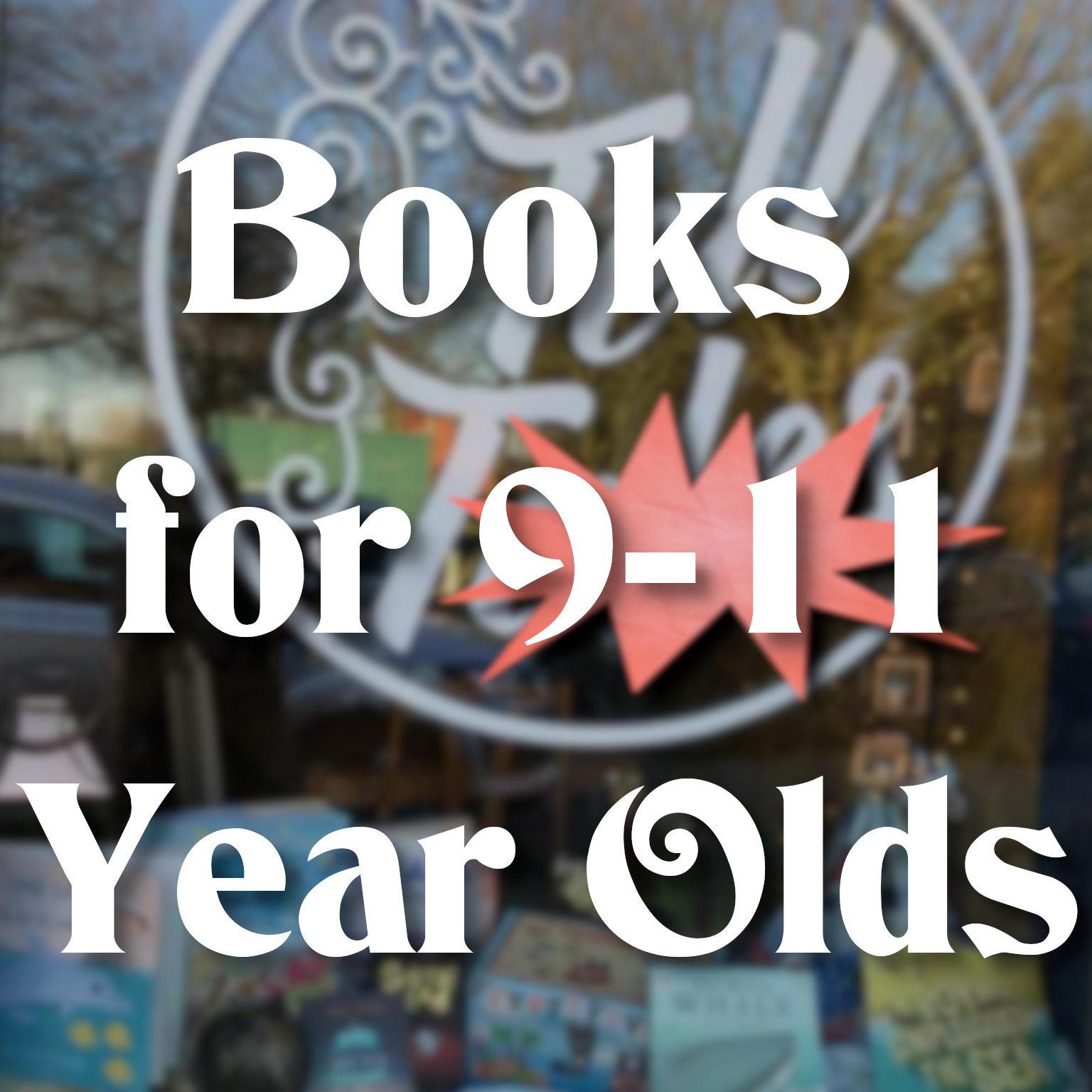 Books for 9-11year olds