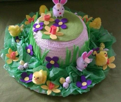 Easter Bonnet making and Afternoon Tea £10 DEPOSIT (£20 total) 27.03.21