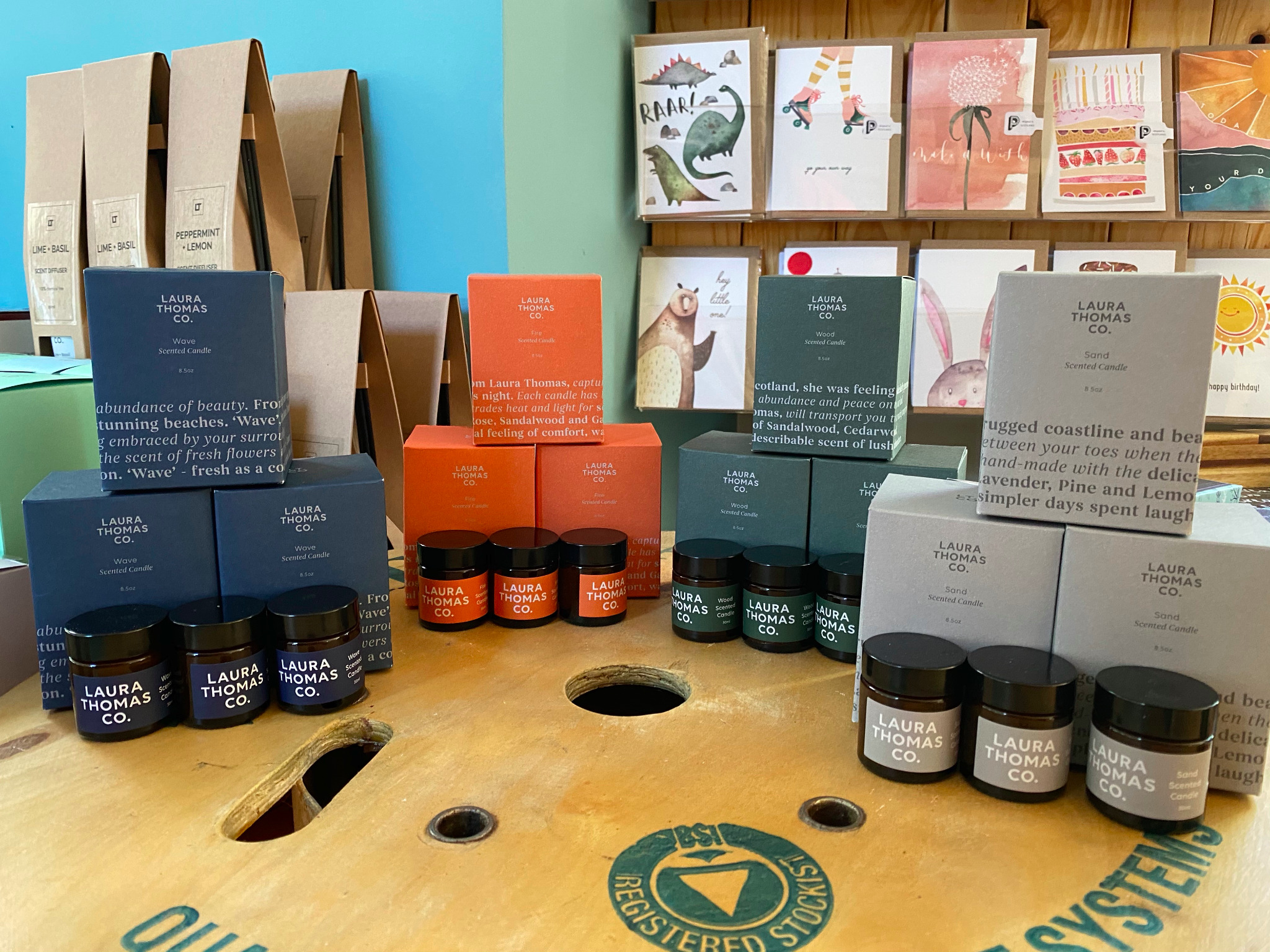 Laura Thomas Co. - Candles, Bath Salts, Scent Diffusers, Hand & Shower wash