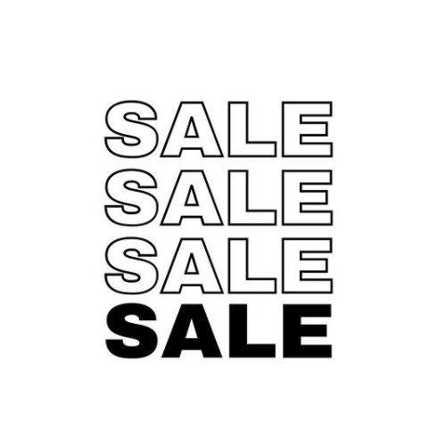 Discounted and SALE