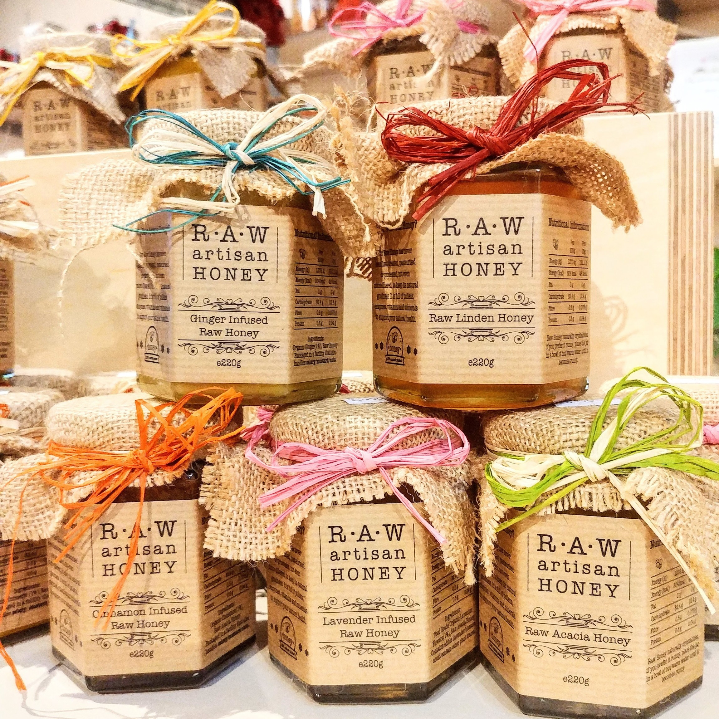Raw Artisan Honey