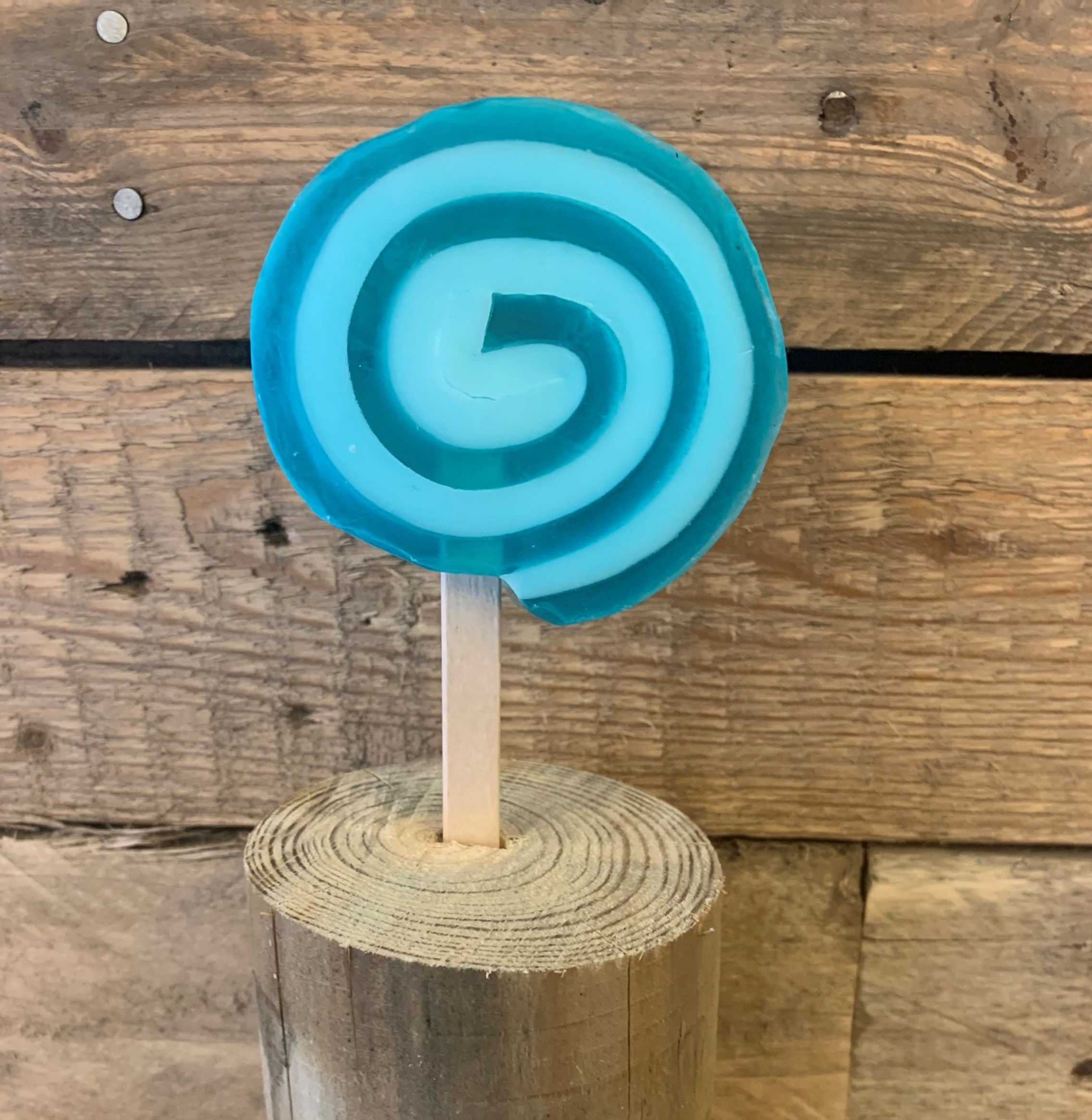 Roly Poly Lollipop Soap on a Stick