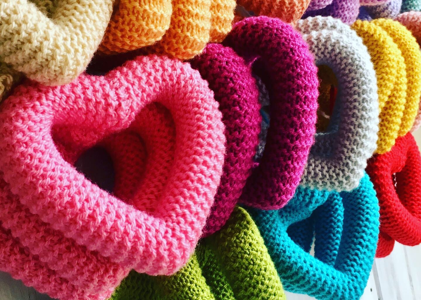Knitted Hearts