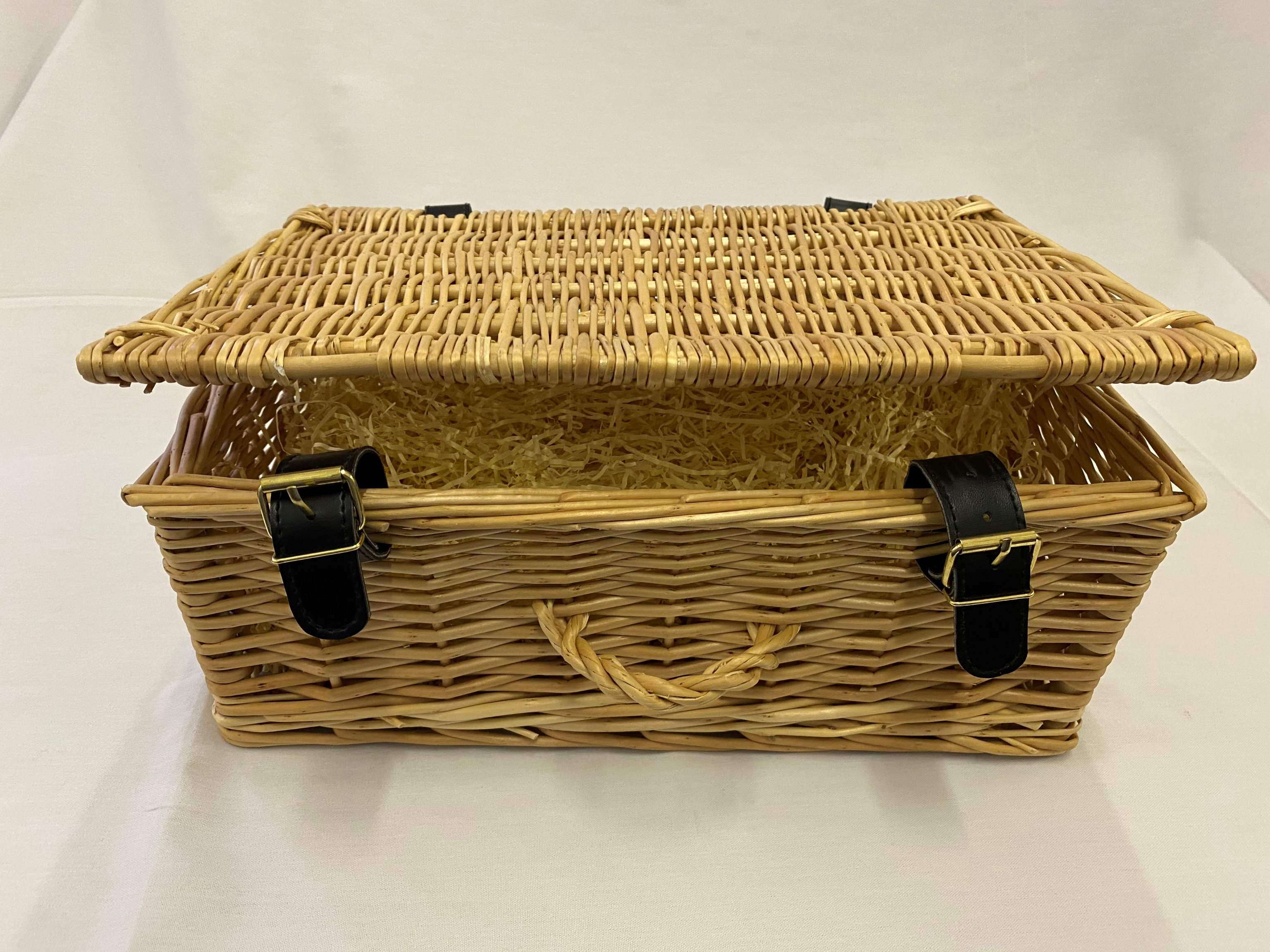 E. Present It In A Wicker Basket