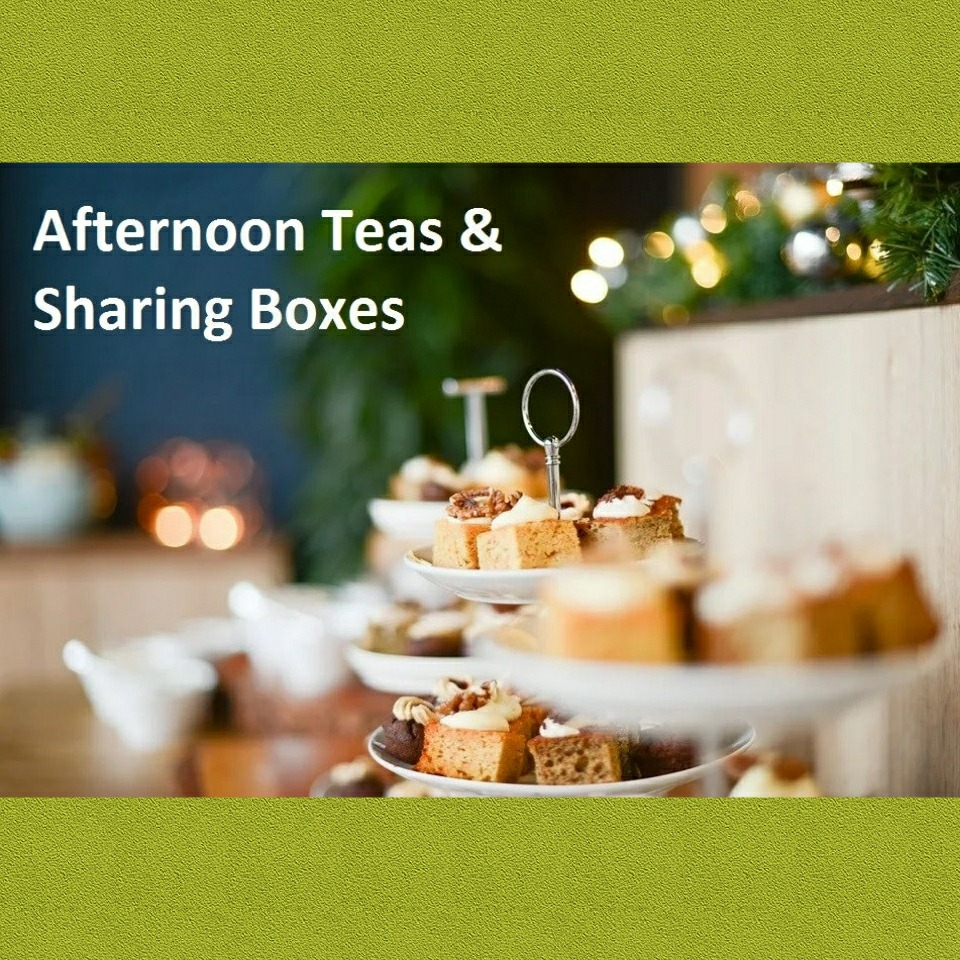 Afternoon Teas & Sharing Boxes