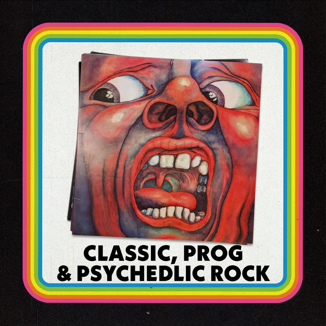 Classic, Prog & Psychedelic Rock