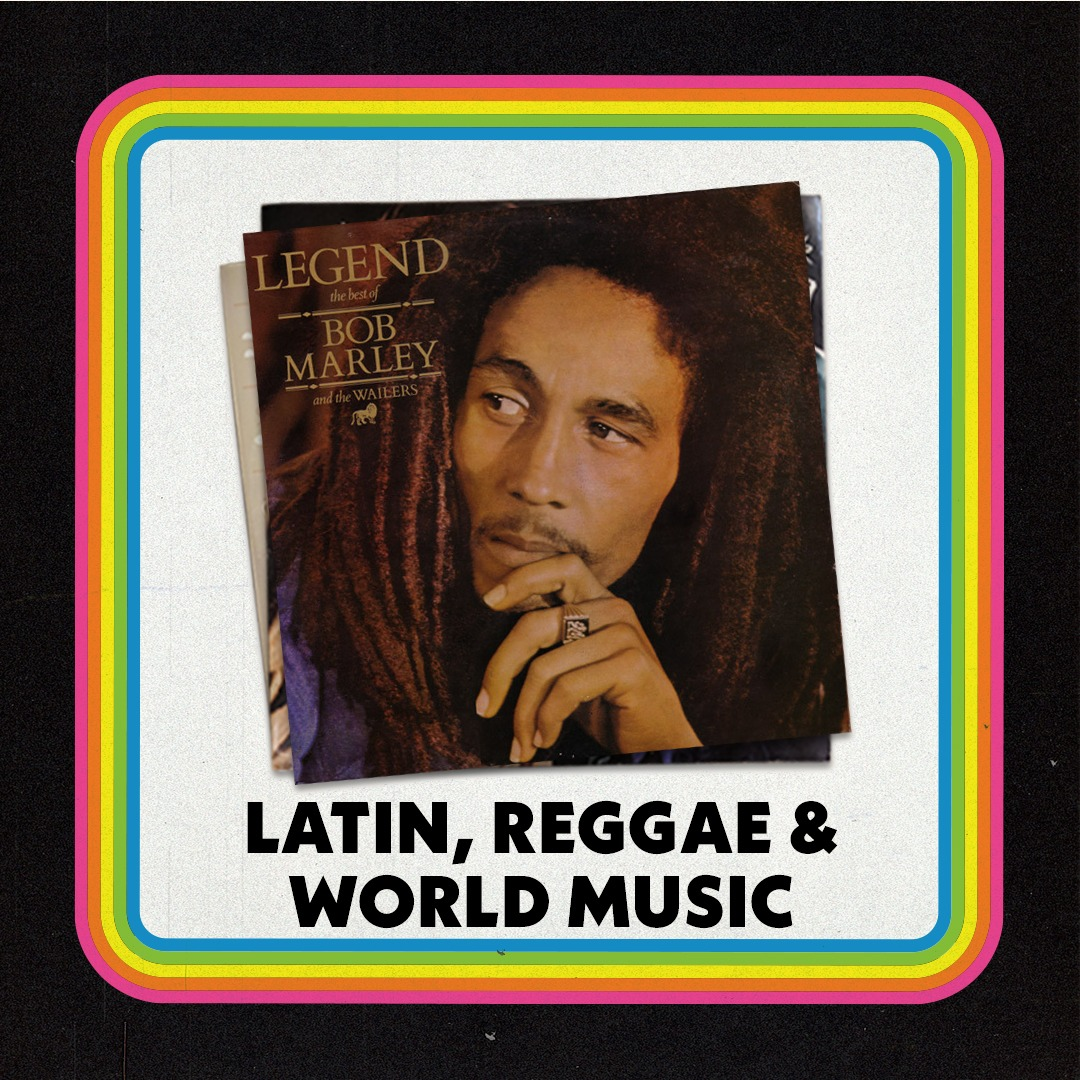 Latin, Reggae & World Music