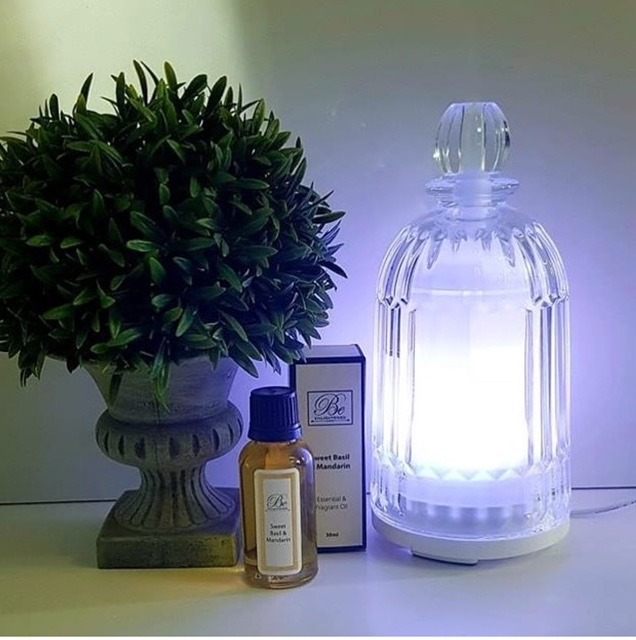 Glass Diffusers and Essential Oils
