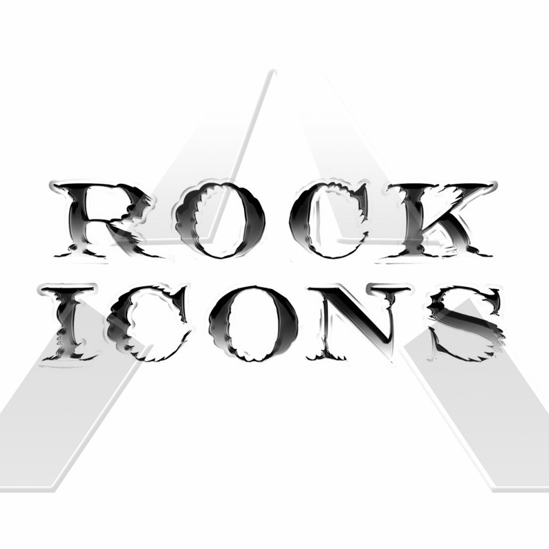 Rock Icons by the Artist