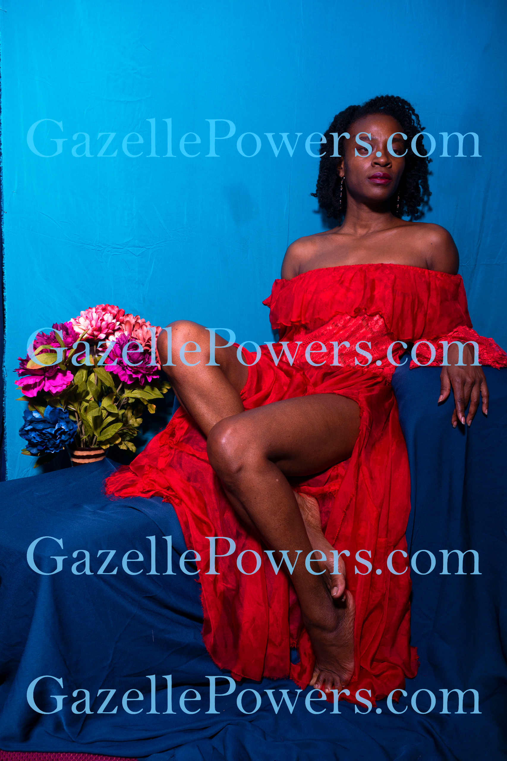 July 12th Session - Lady in Red