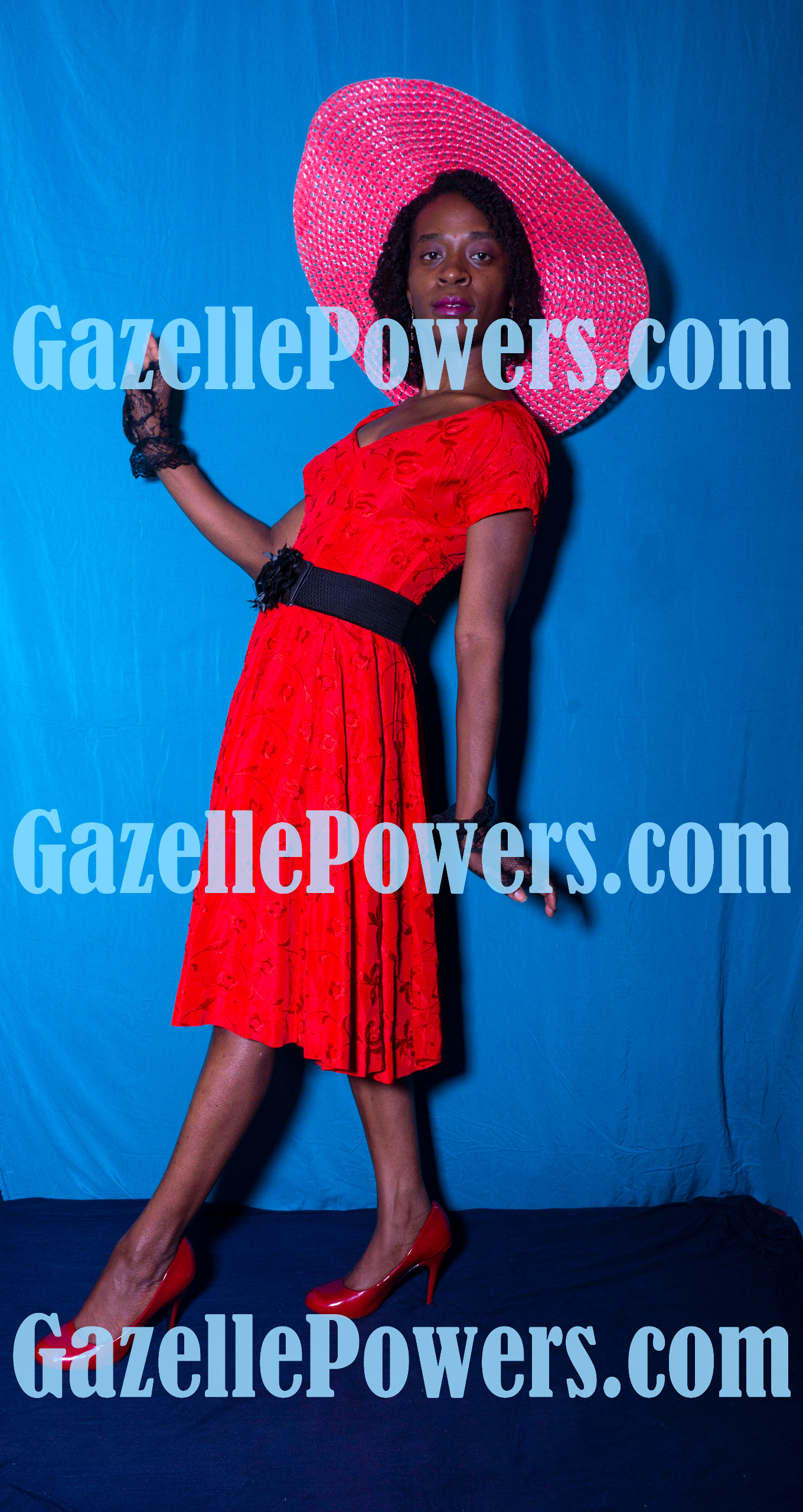 April 18th Session - Vintage Lady in Red