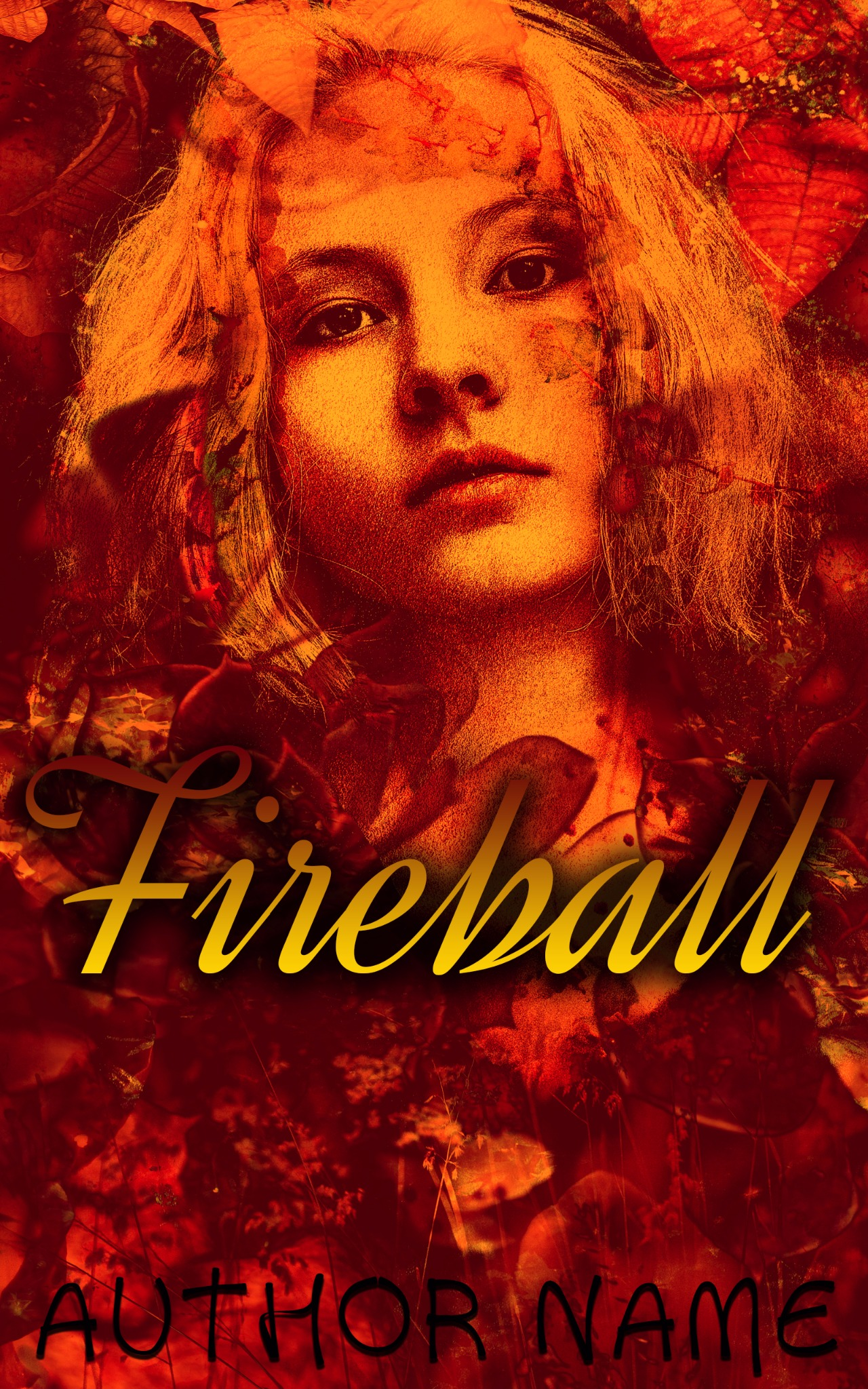 Fireball | E-Book Cover Design PSD Template
