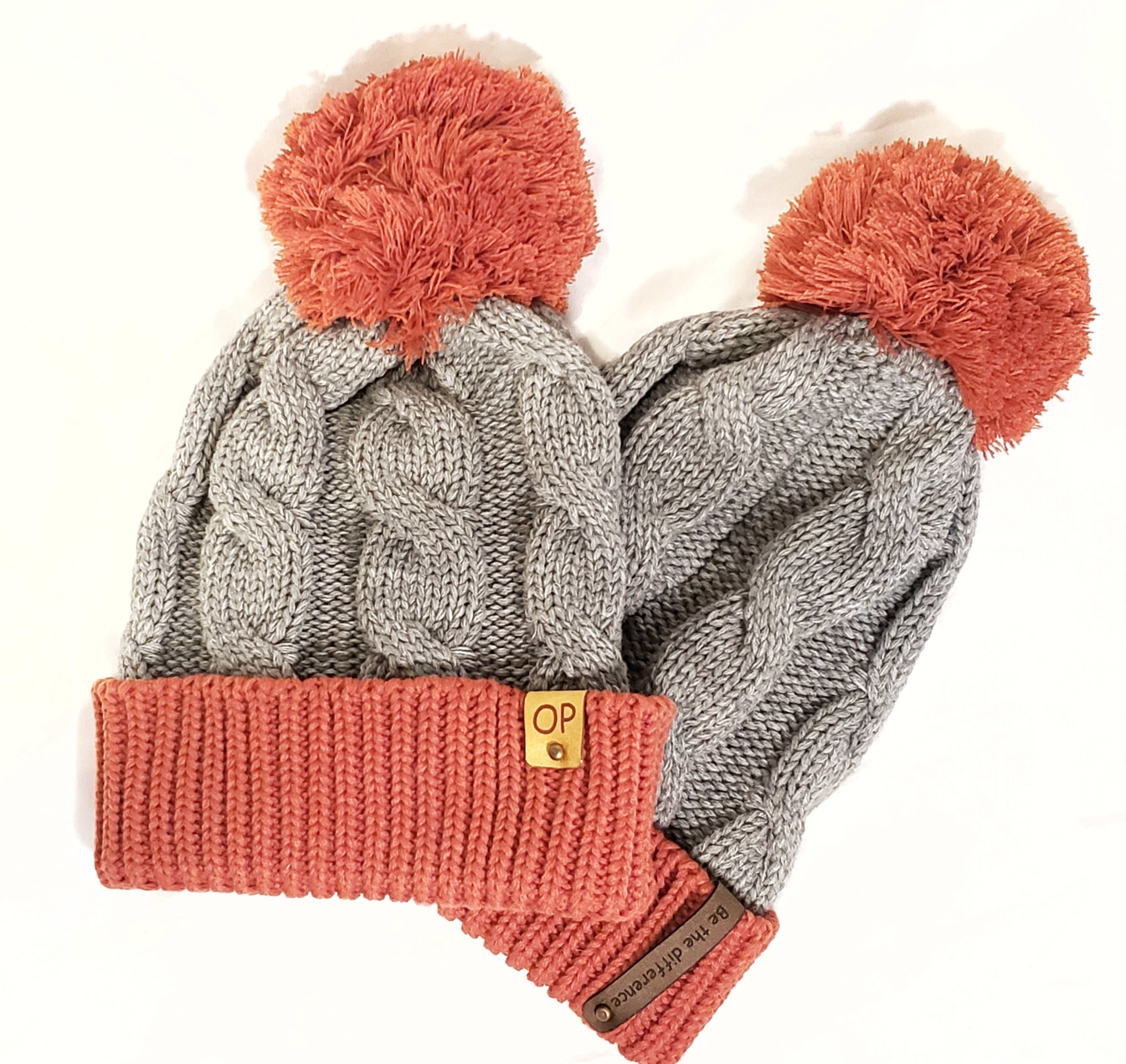 Richardson Beanie Red and Grey