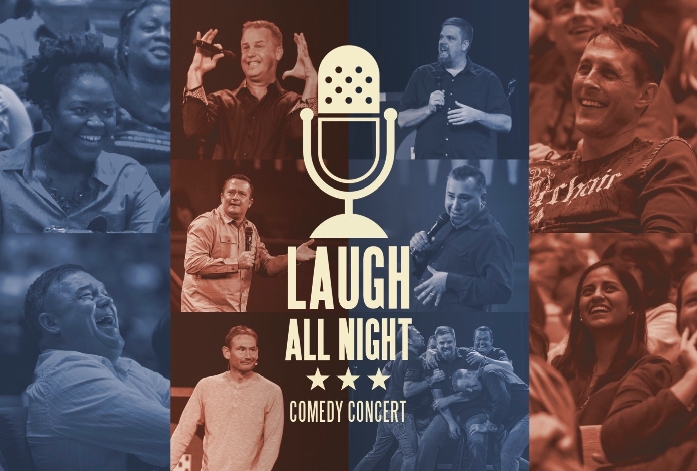 Laugh All Night Comedy Concert