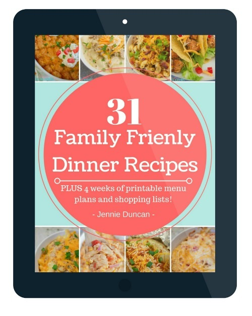 31 Family Friendly Dinner Recipes