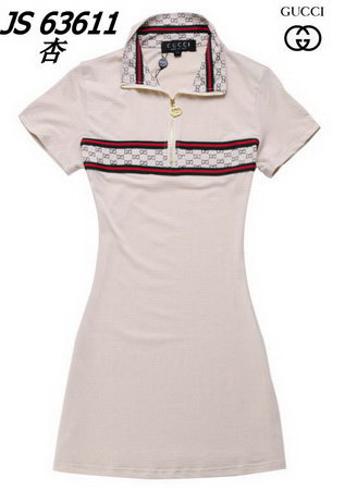 Gucci Polo Dress *Red, White, Khaki