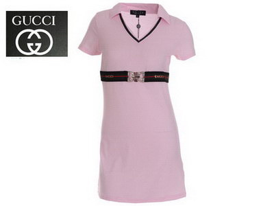 Gucci Pink Polo Dress