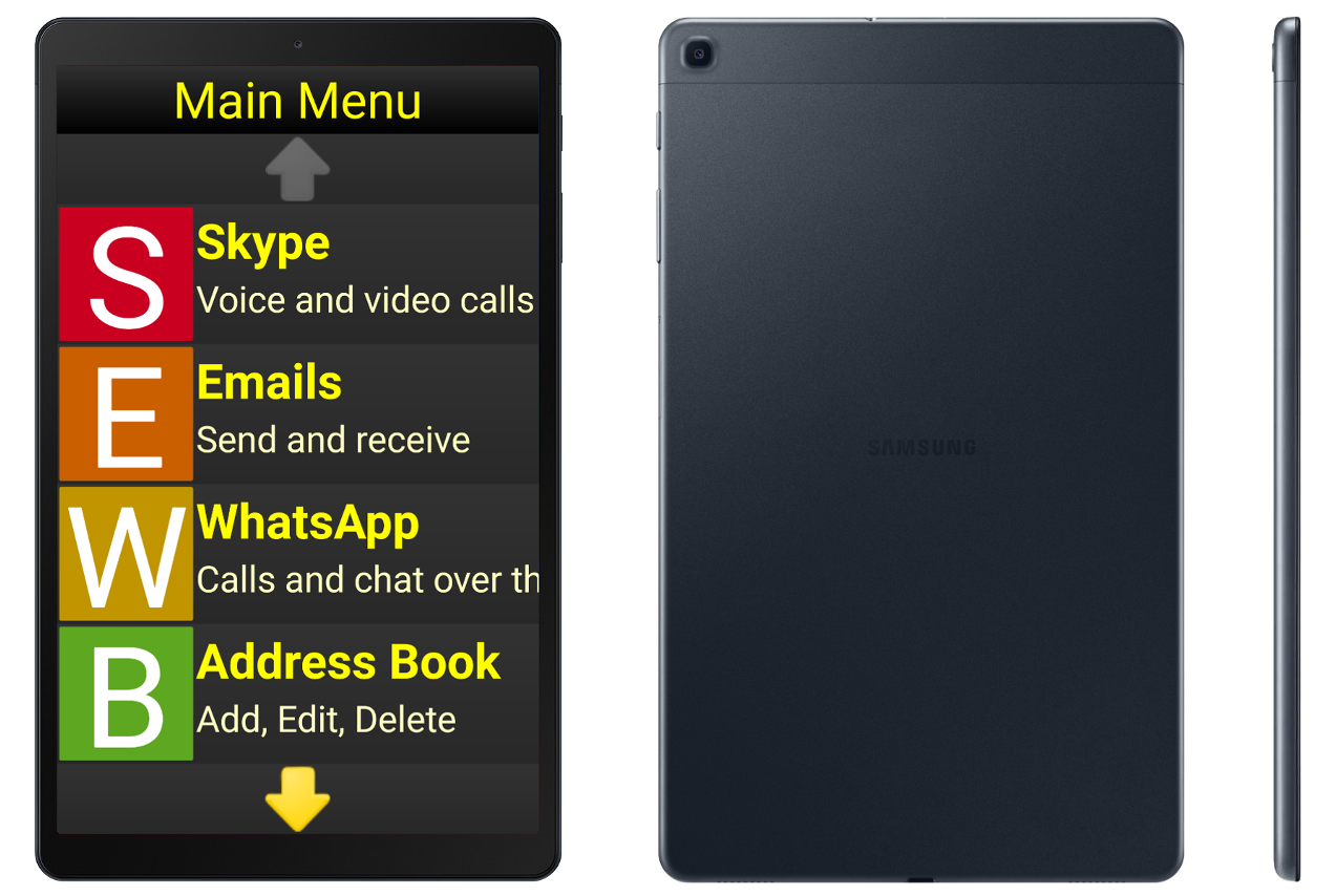Synapptic Silver Tablet package (no SIM)