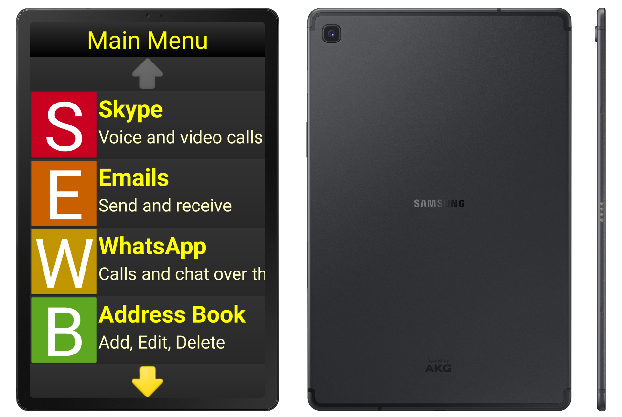Synapptic Gold Tablet package (with SIM)