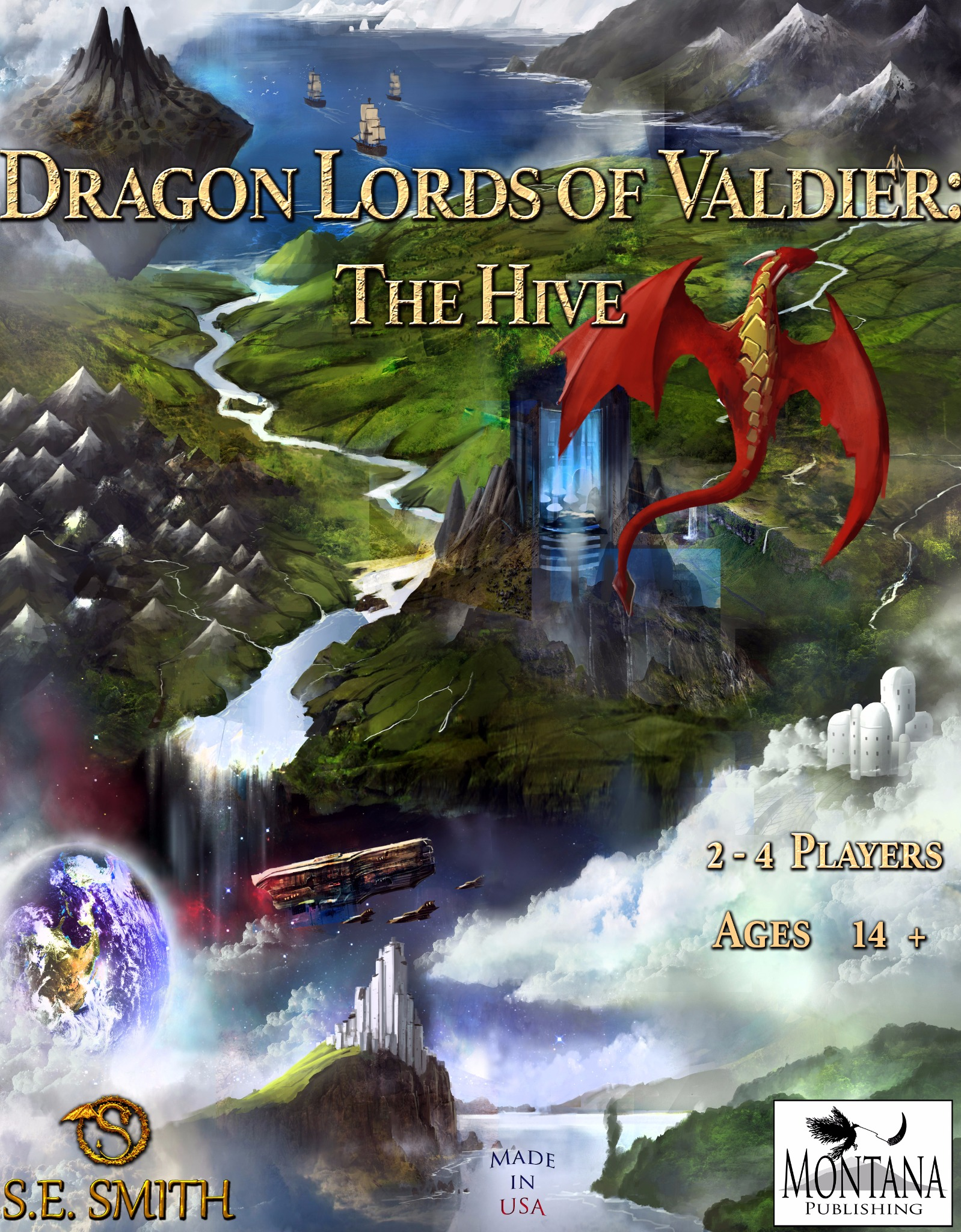 Dragon Lords of Valdier: The Hive Board Game