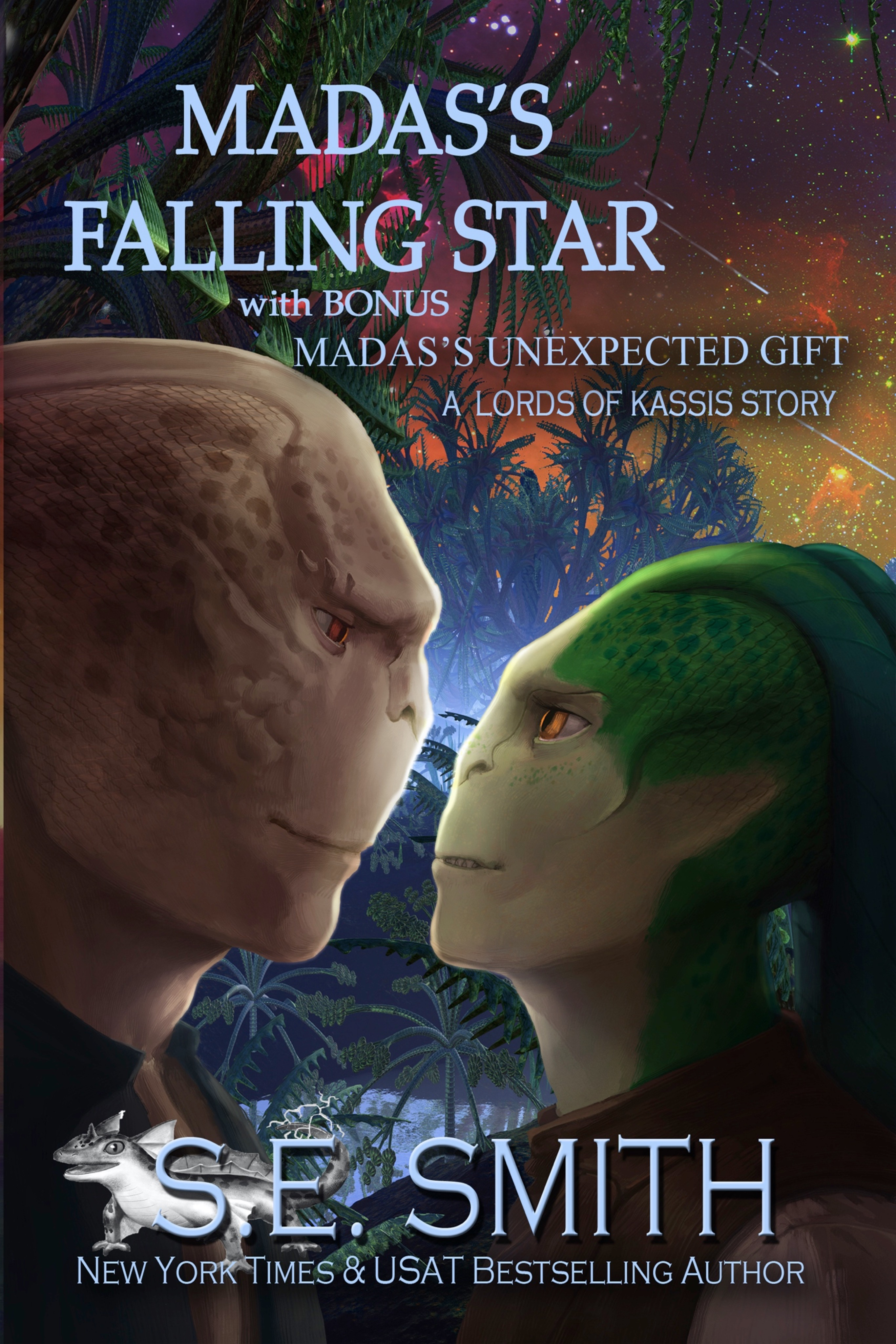 Madas's Falling Star featuring Madas's Unexpected Gift: Lords of Kassis Book 5 (ebook: mobi & epub)