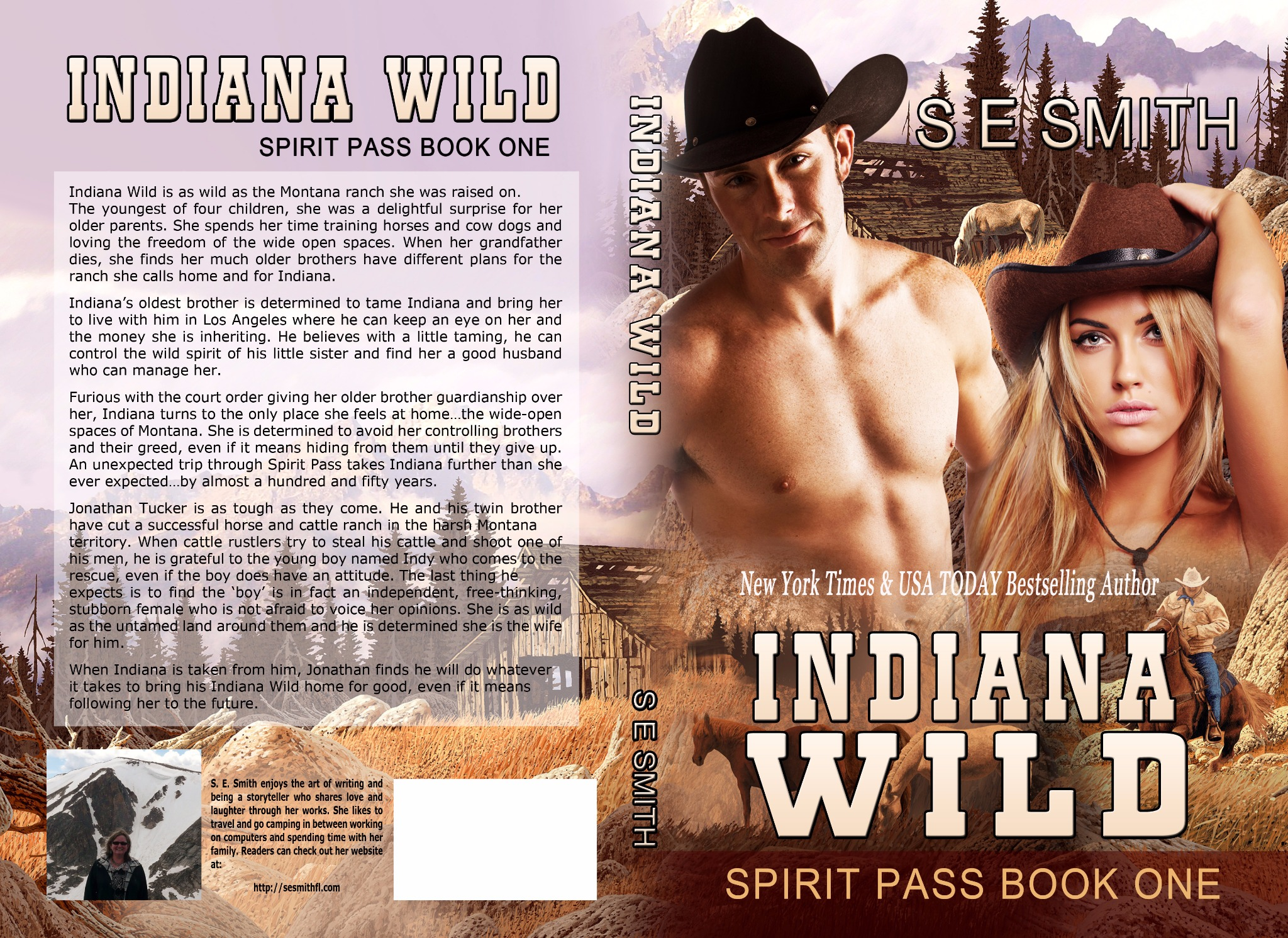 Indiana Wild: Spirit Pass Book 1 (Paperback)