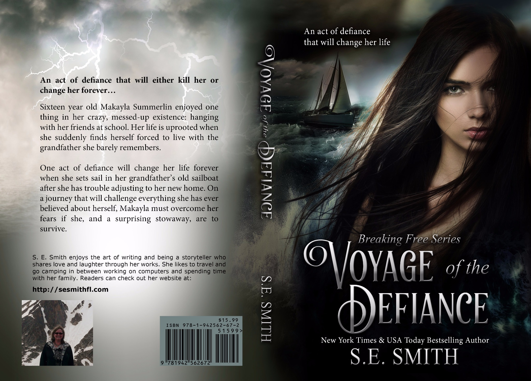 Voyage of the Defiance: Breaking Free Book 1  Young Adult (Paperback)