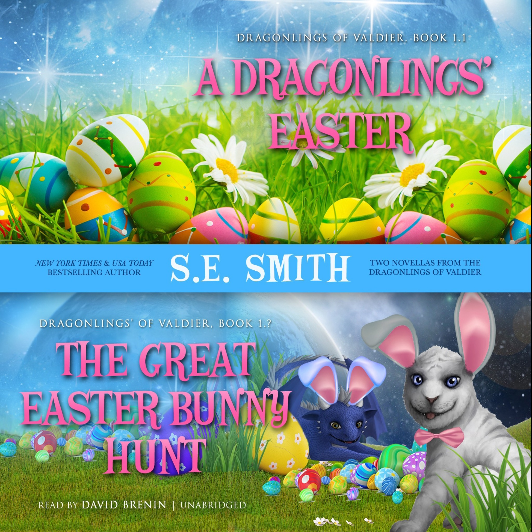 A Dragonlings' Easter featuring The Great Easter Bunny Hunt (Audiobook Combo CD)