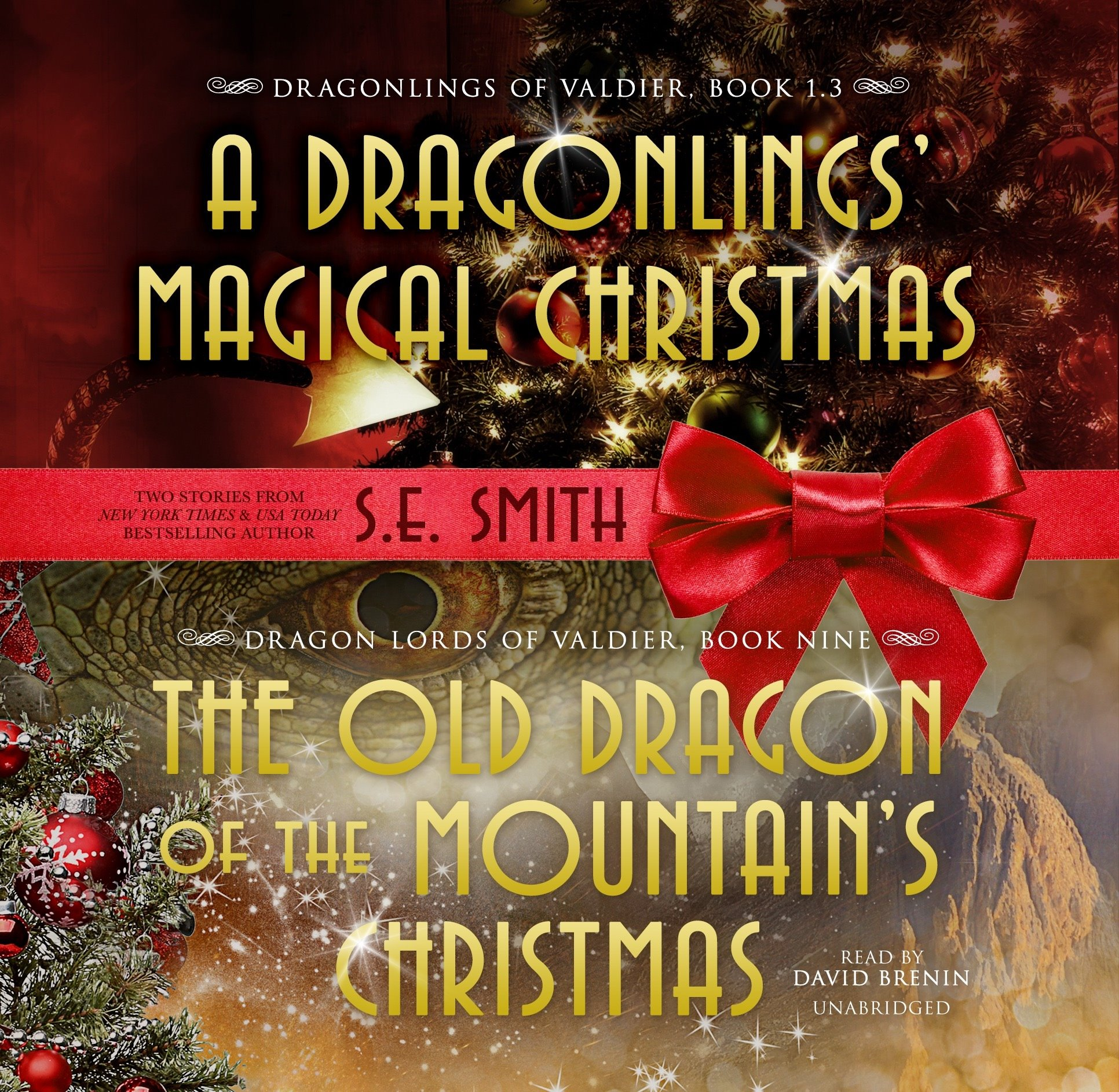 A Dragonlings' Magical Christmas/The Old Dragon of the Mountain's Christmas (Audiobook CD Bundle)