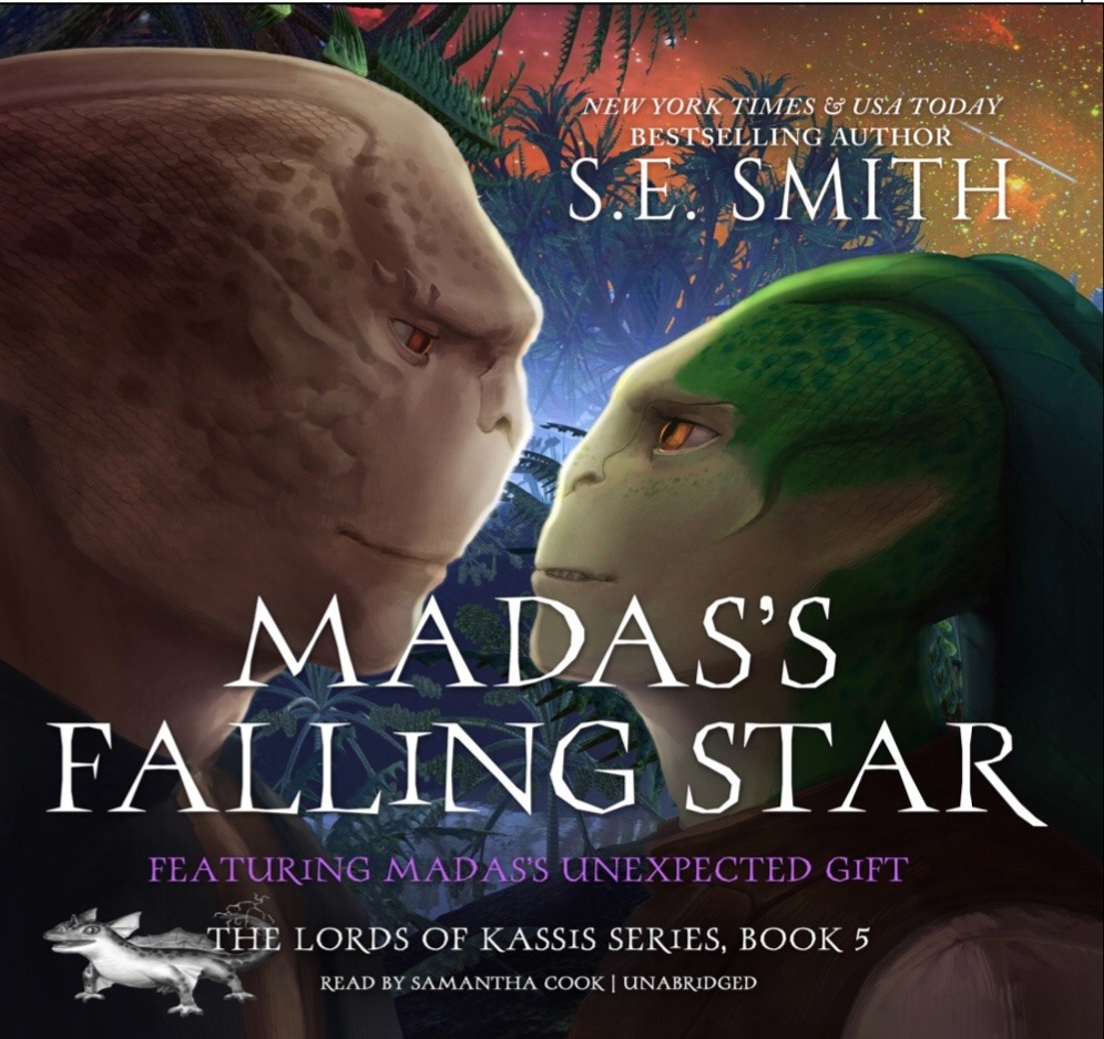 Madas's Falling Star featuring Madas's Unexpected Gift (Audiobook)