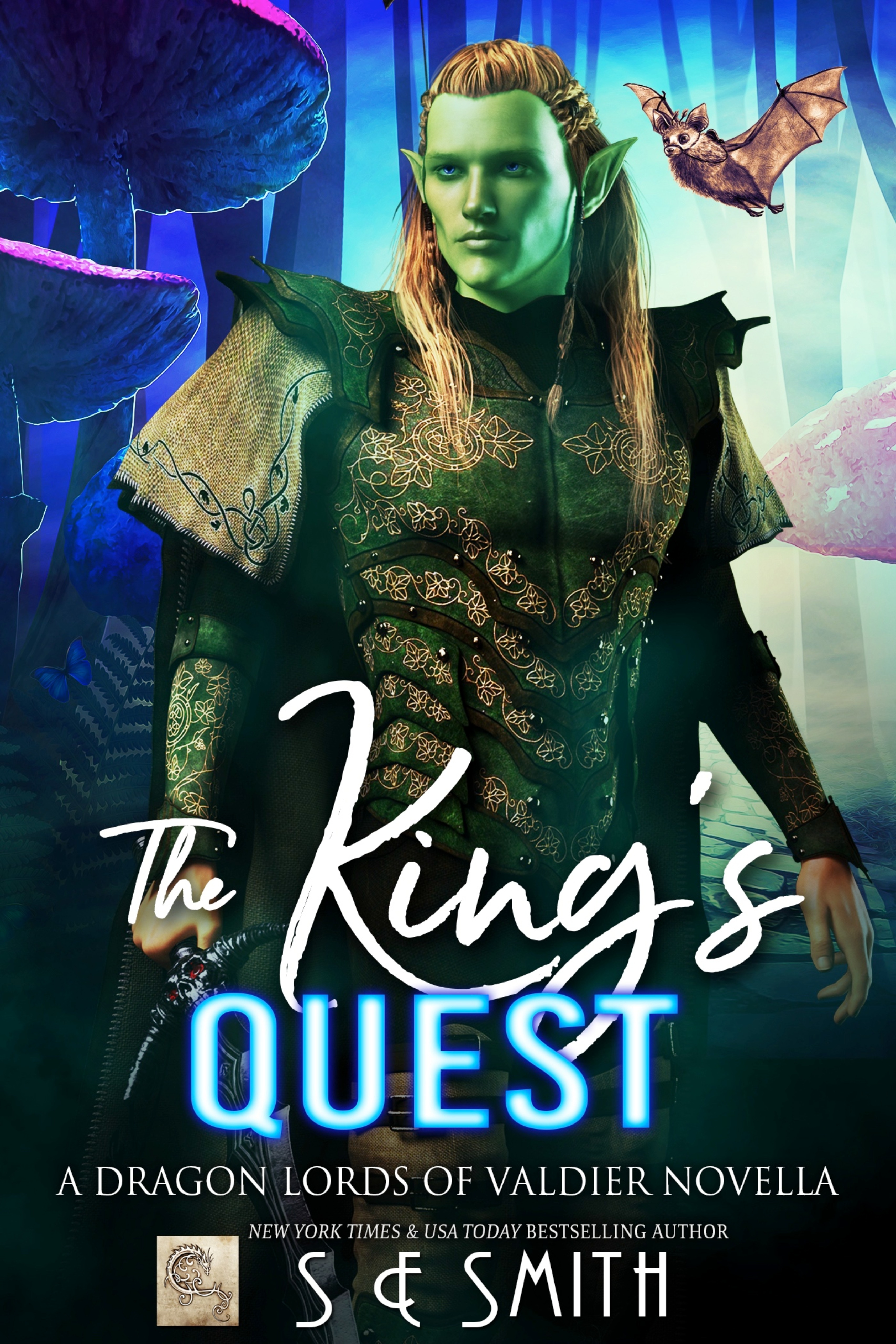 The King's Quest: A Dragon Lords of Valdier Novella (Paperback)