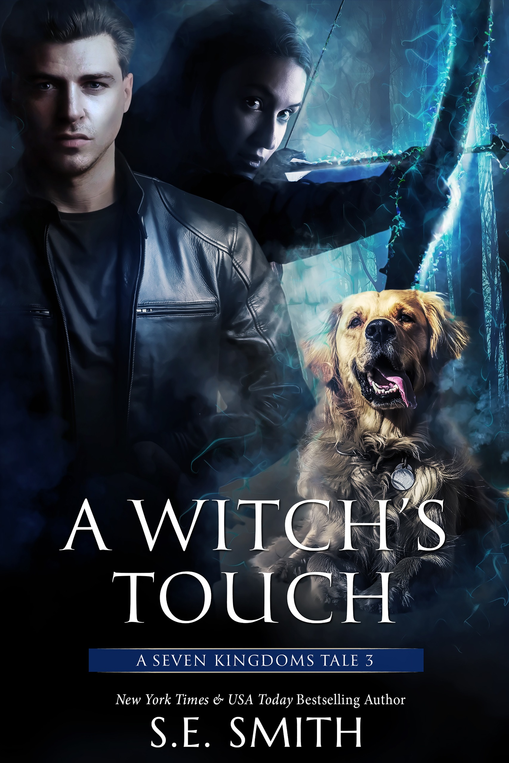A Witch's Touch: A Seven Kingdoms Tale 3 (paperback)