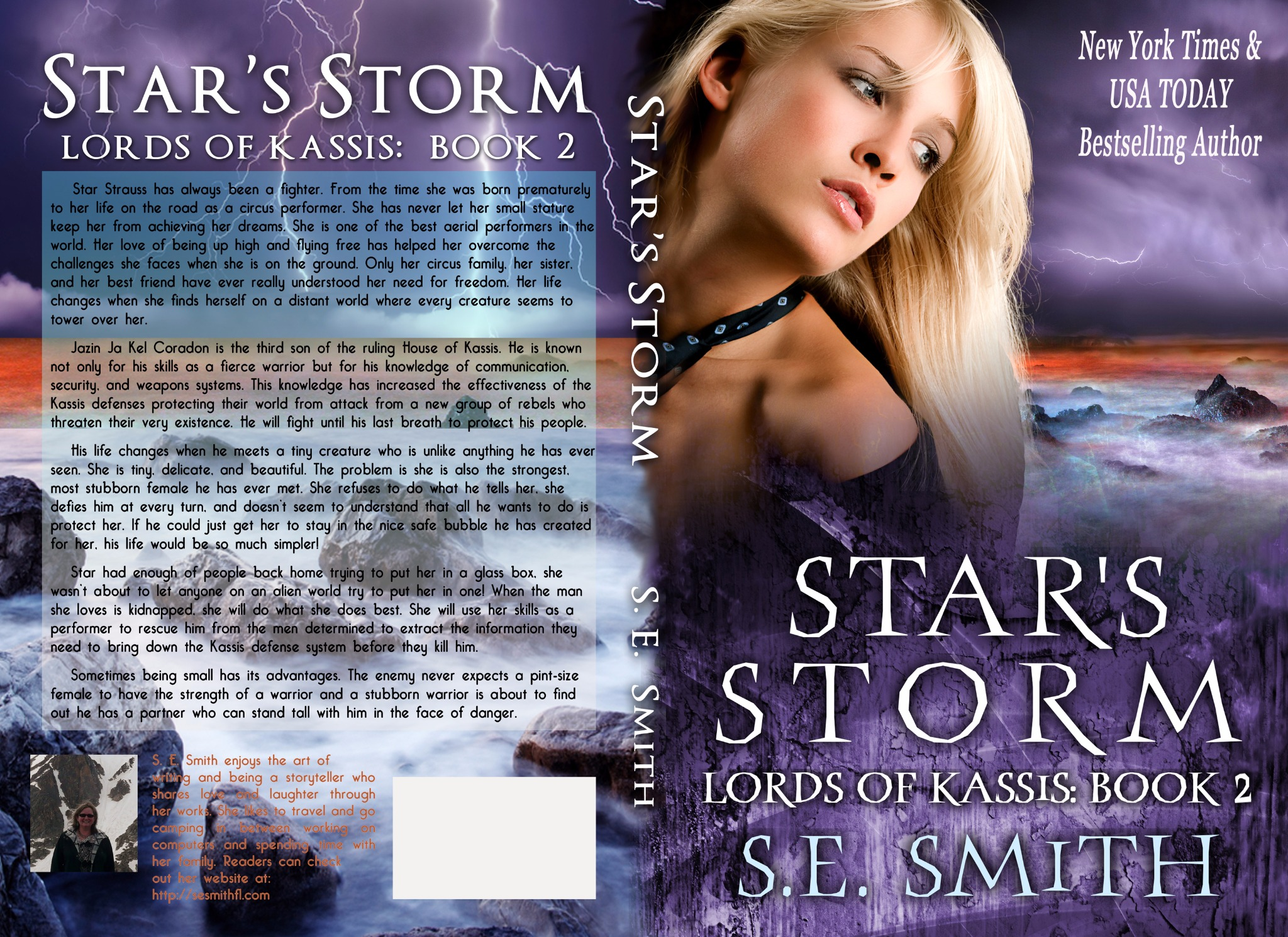 Star's Storm: Lords of Kassis Book 2 (Paperback)