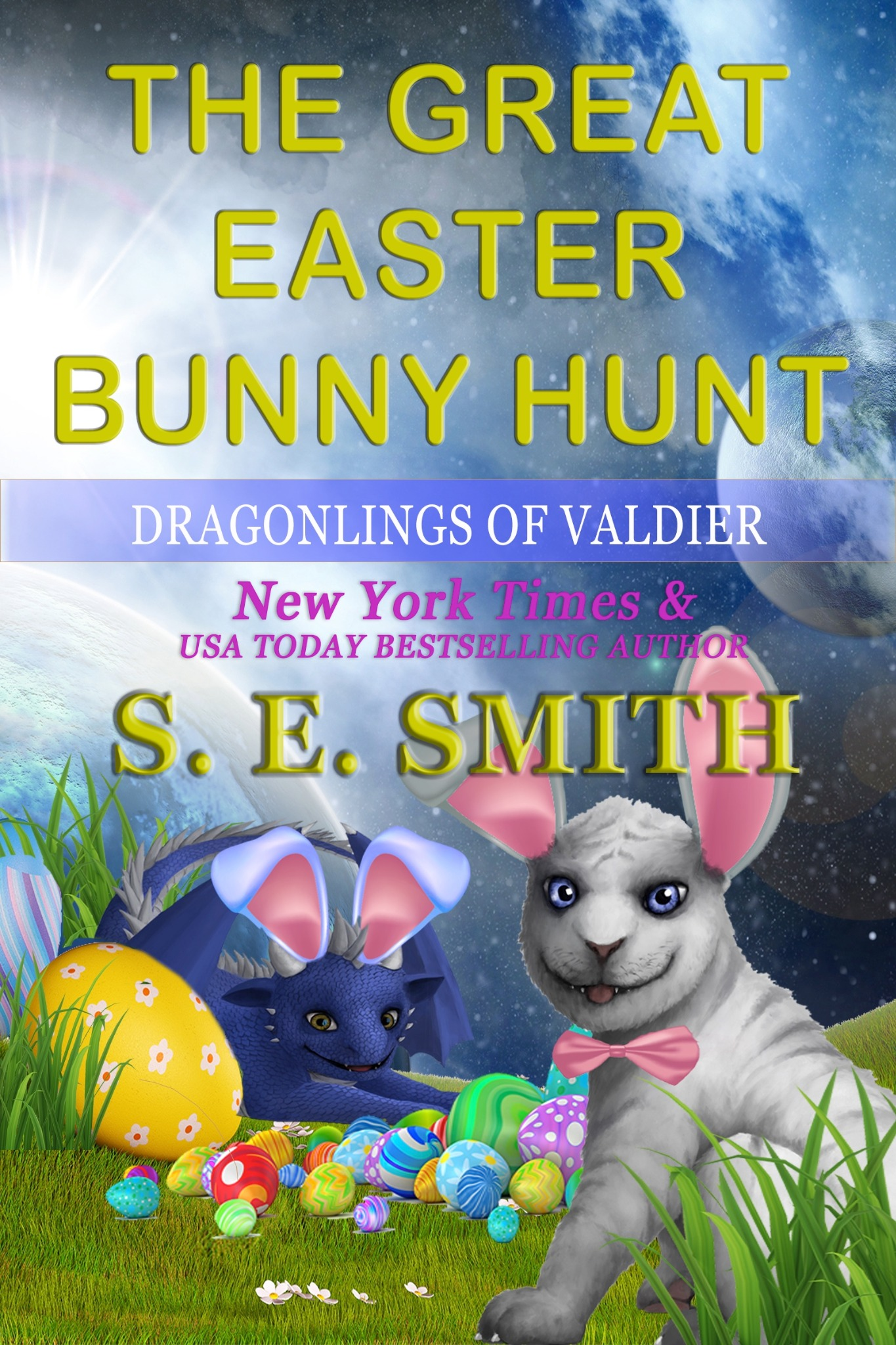 The Great Easter Bunny Hunt: A Dragonlings of Valdier short
